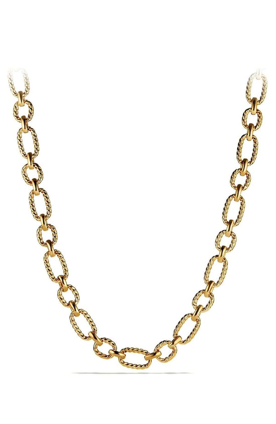 Chain Link Necklace,                         Main,                         color, 710