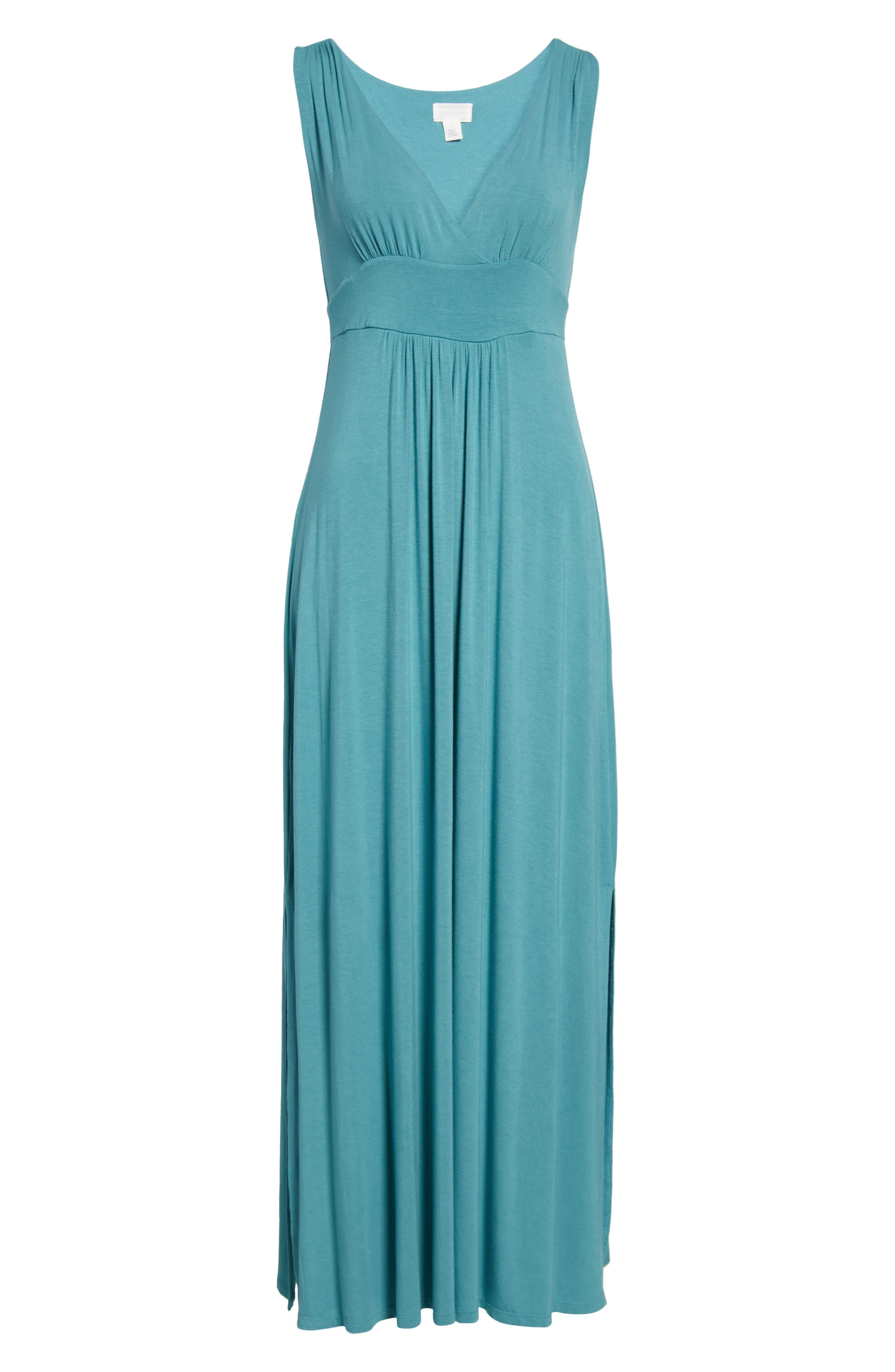 Knit Maxi Dress,                             Alternate thumbnail 35, color,