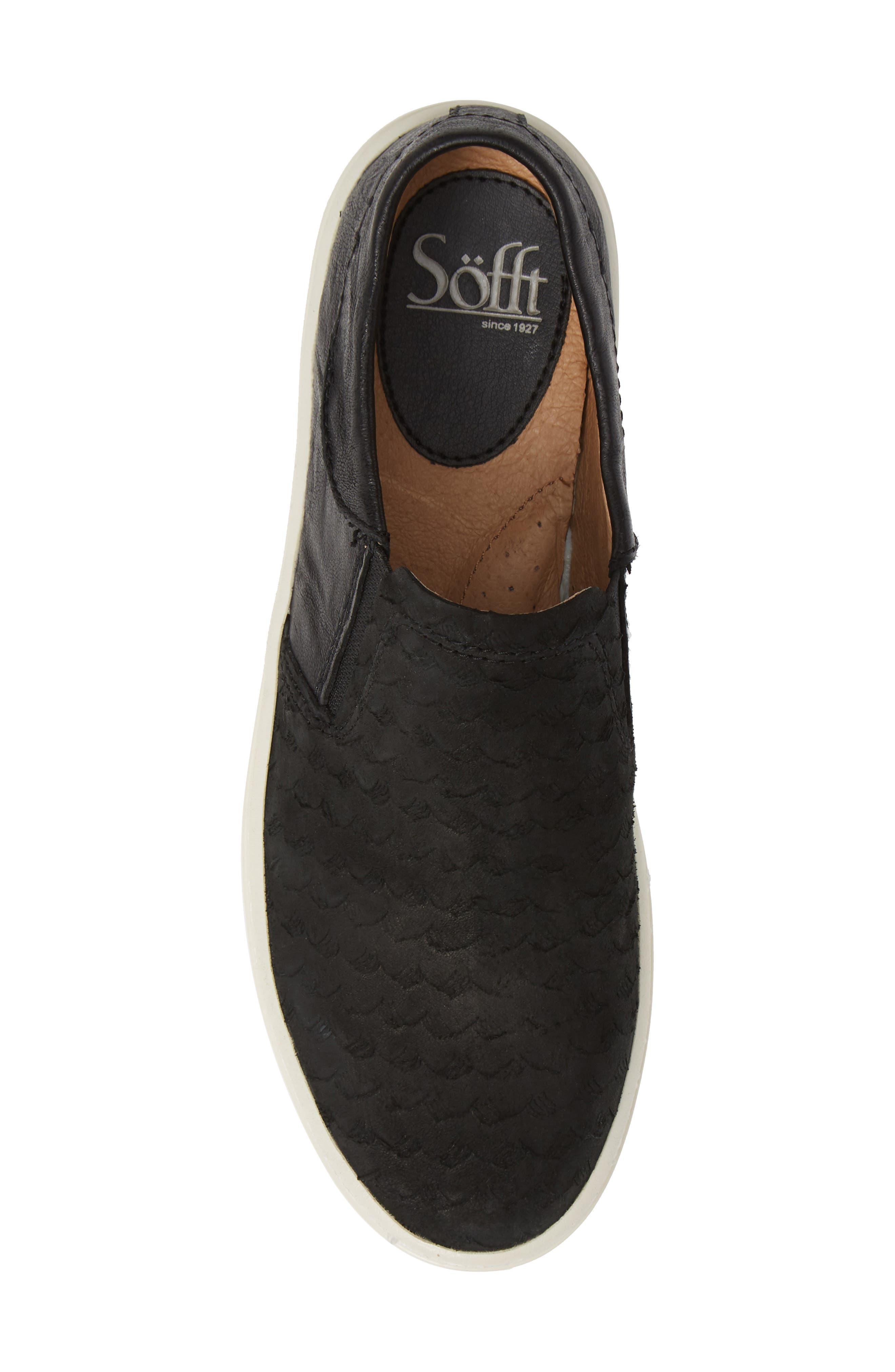 SÖFFT,                             Somers III Slip-On Sneaker,                             Alternate thumbnail 5, color,                             002