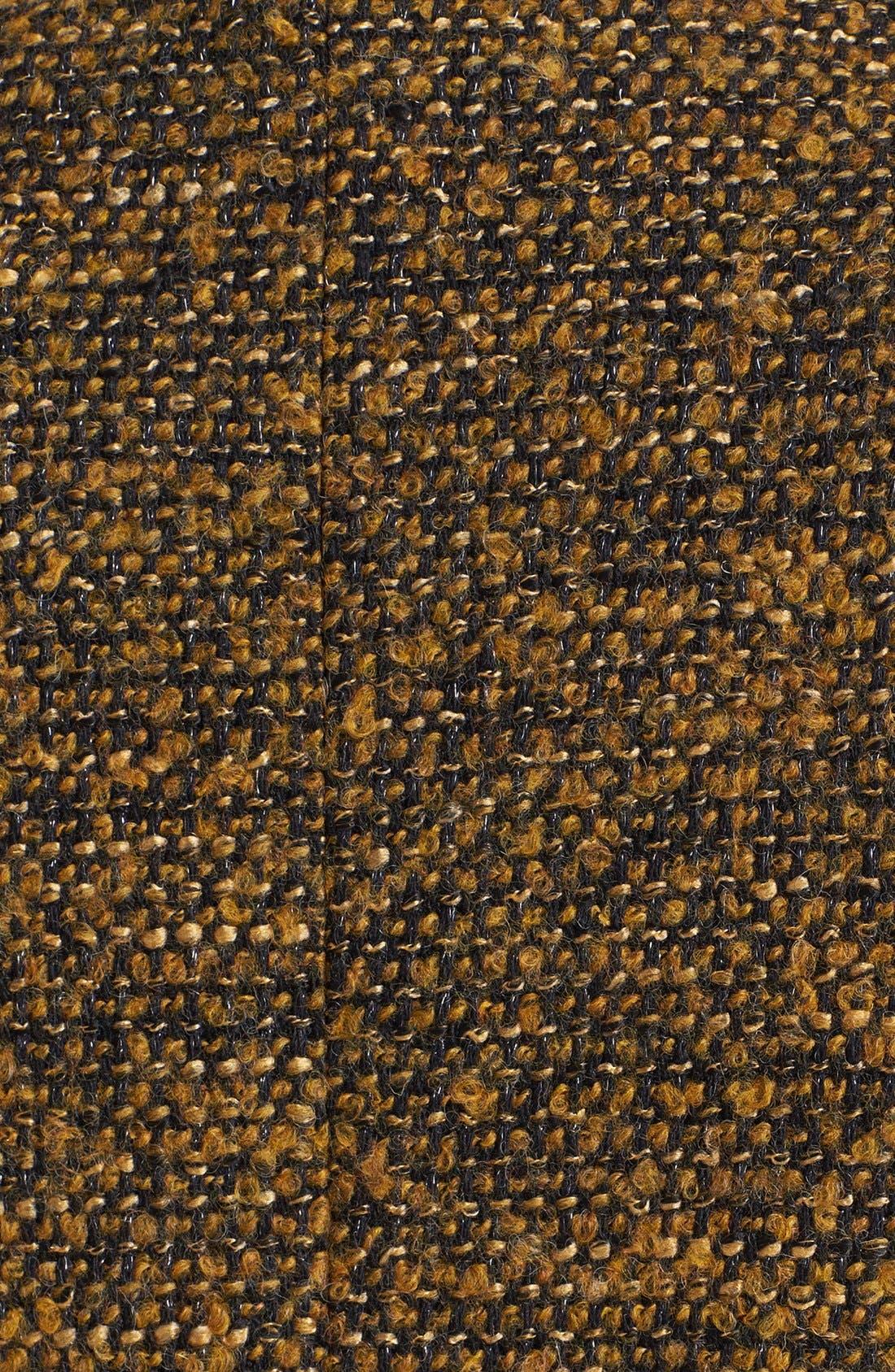 CLASSIQUES ENTIER<SUP>®</SUP>,                             'Kane Weave' Bouclé Jacket,                             Alternate thumbnail 3, color,                             001