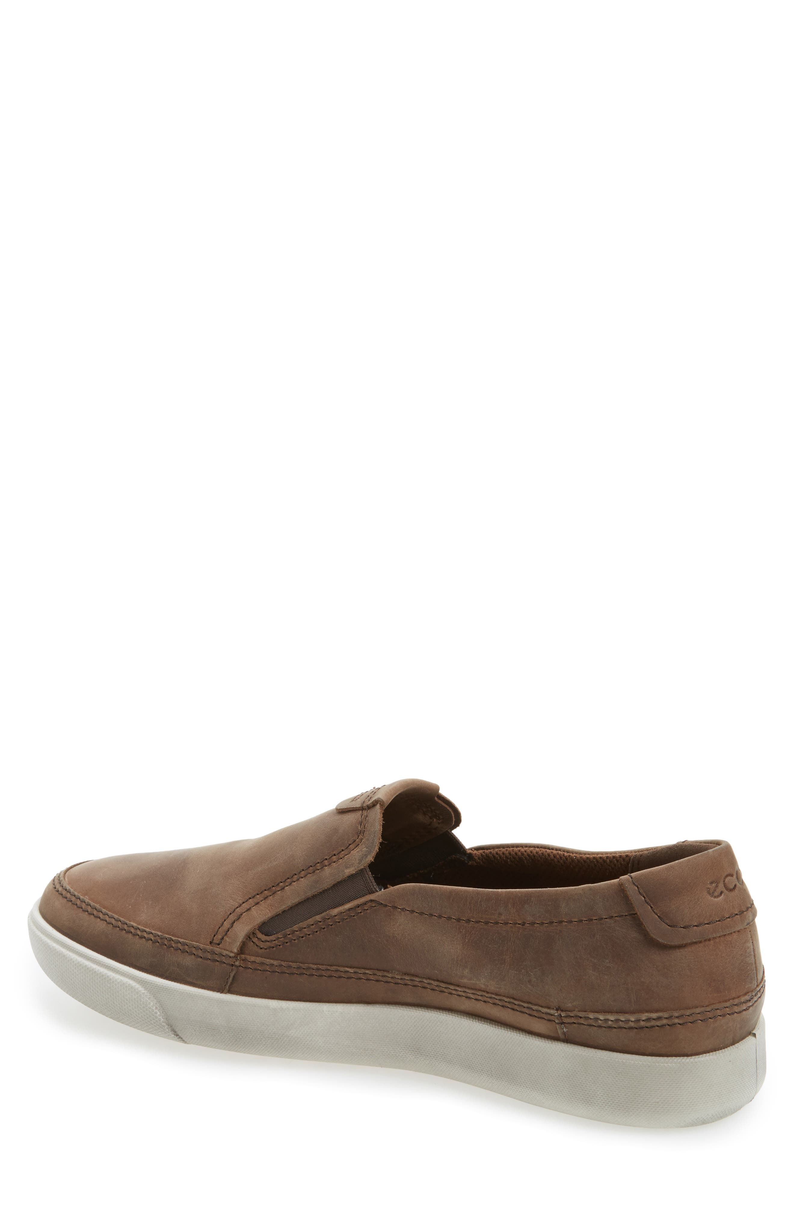 'Gary' Slip-On,                             Alternate thumbnail 2, color,                             COCOA BROWN LEATHER