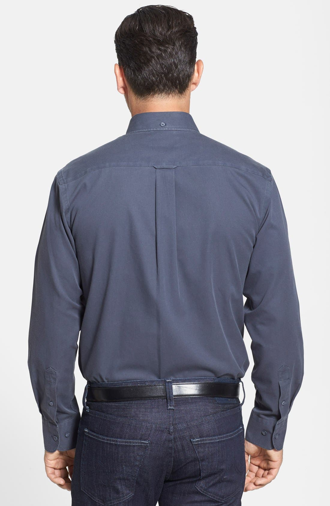 Smartcare<sup>™</sup> Traditional Fit Twill Boat Shirt,                             Alternate thumbnail 56, color,