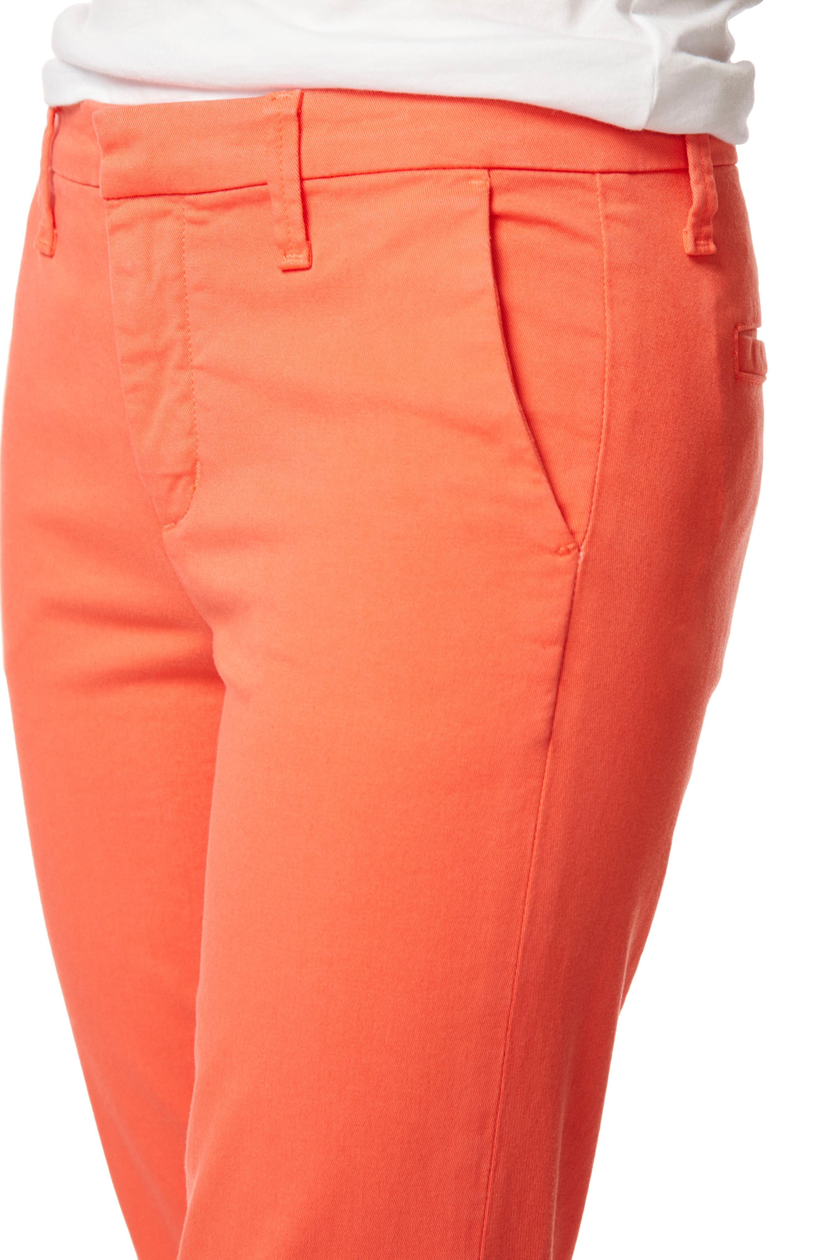 Clara Trousers,                             Alternate thumbnail 5, color,                             PASSION FRUIT