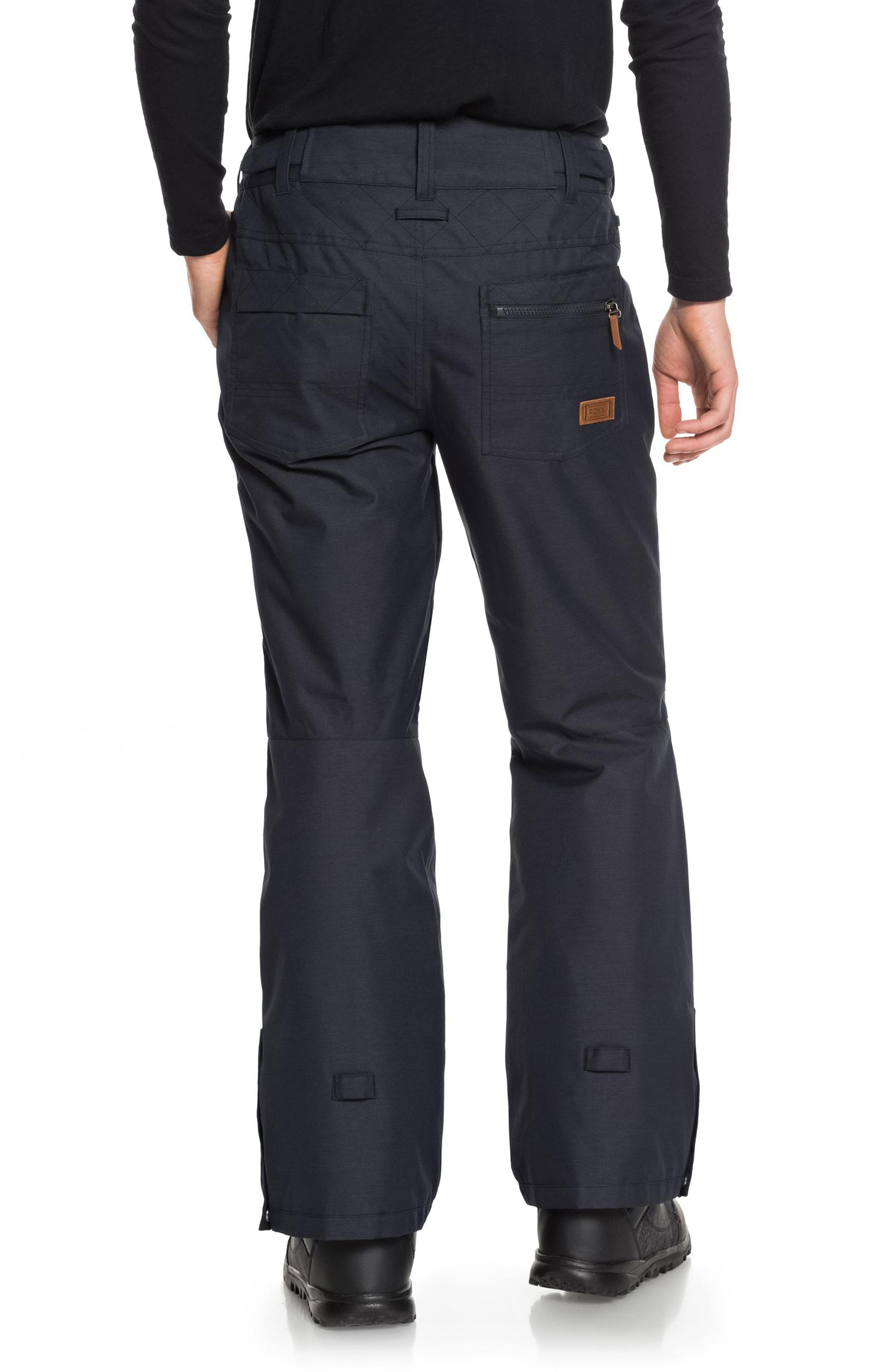 Nadia Waterproof DryFlight<sup>®</sup> WarmFlight<sup>®</sup> Insulated Snow Pants,                             Alternate thumbnail 2, color,                             002