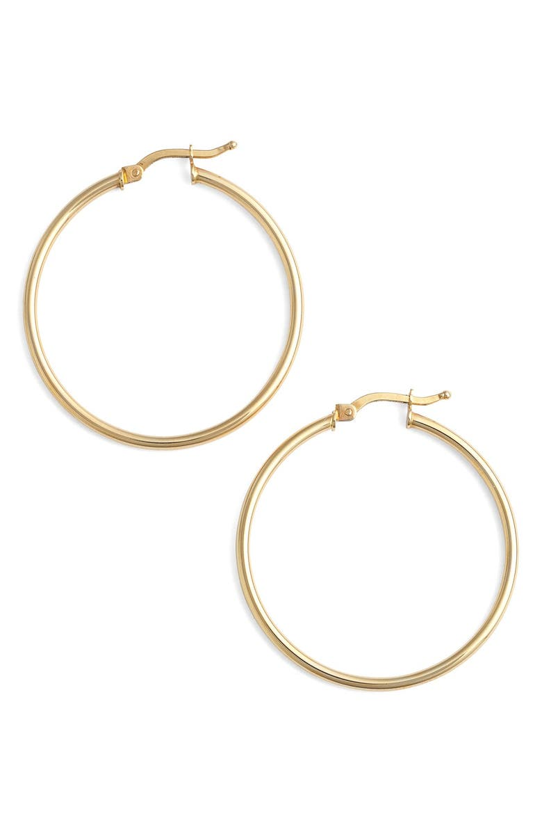 14k Gold Hoop Earrings