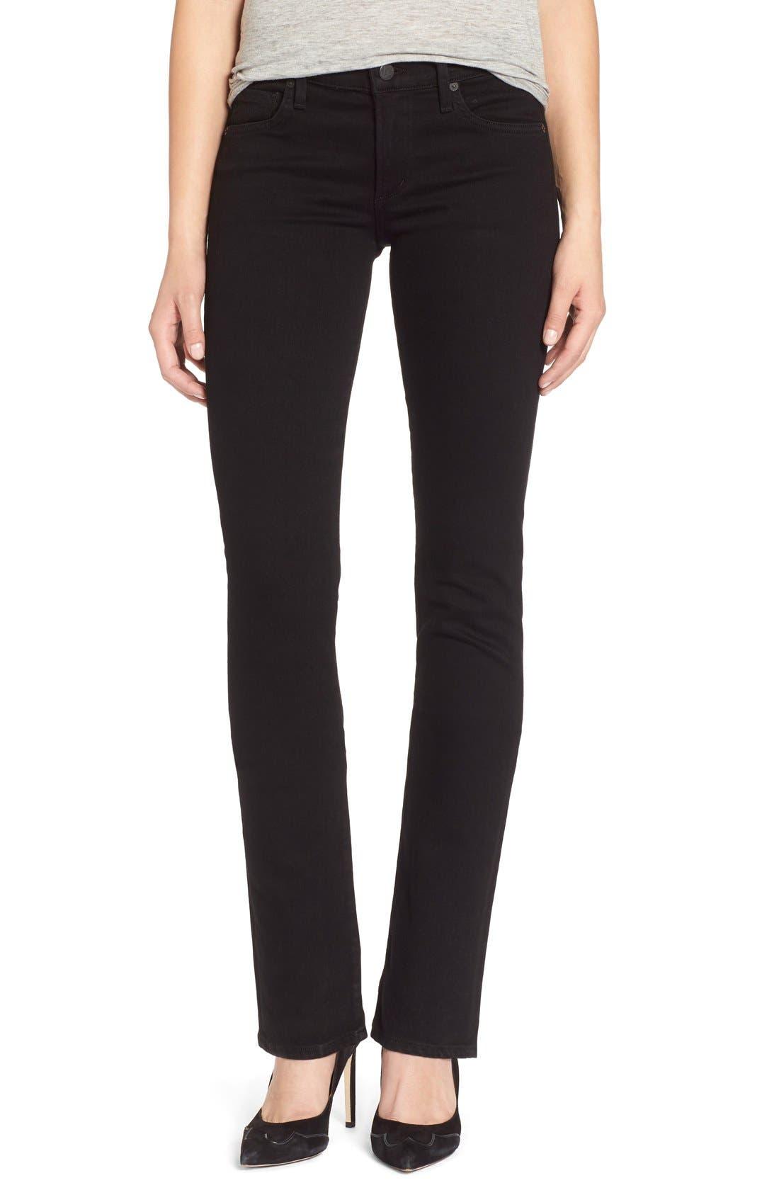 'Ava' Straight Leg Jeans,                         Main,                         color, 003