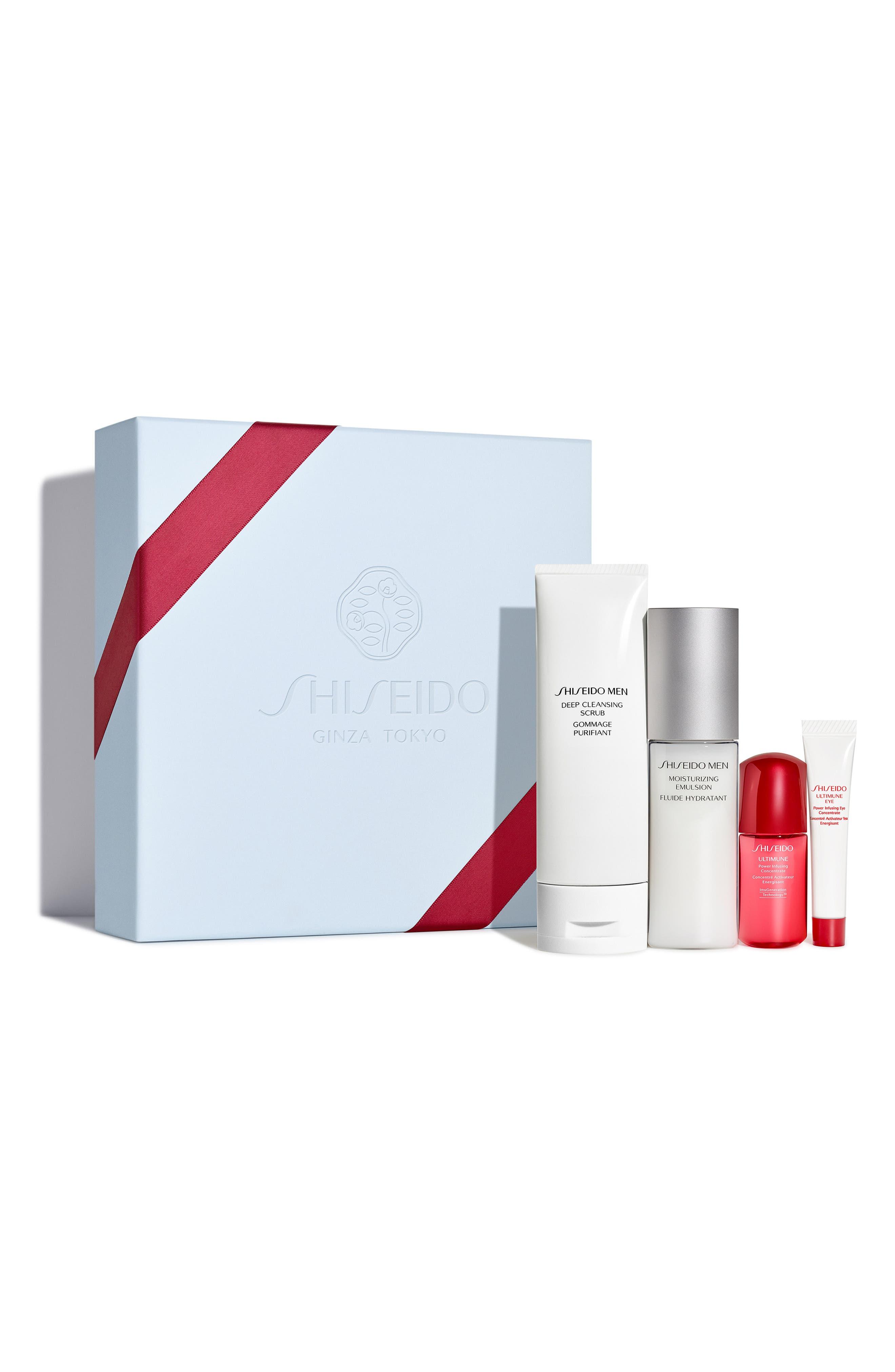 Men's Skin Care Essentials Set,                             Alternate thumbnail 2, color,                             000