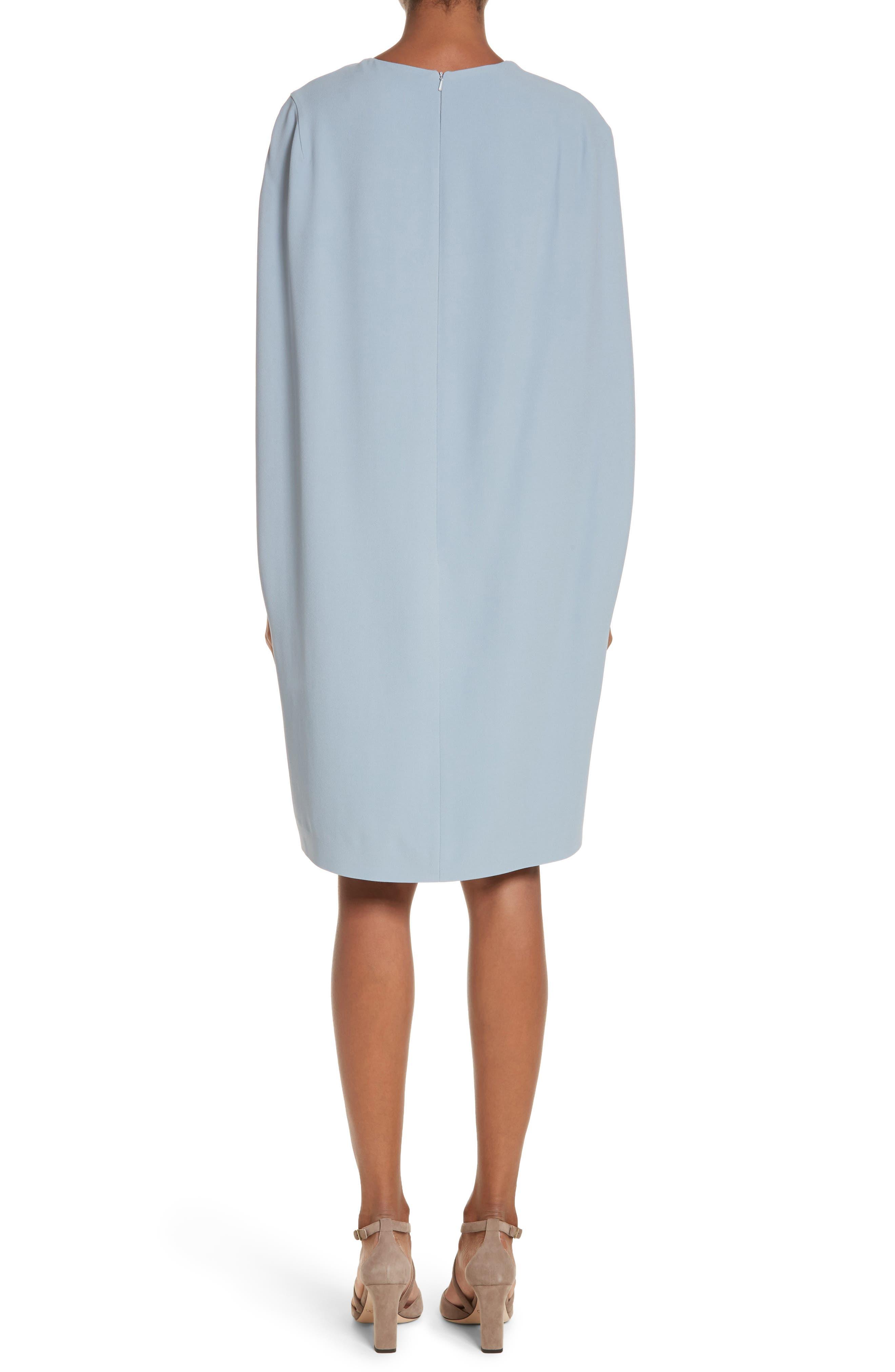 Sospiro Cape Shift Dress,                             Alternate thumbnail 4, color,