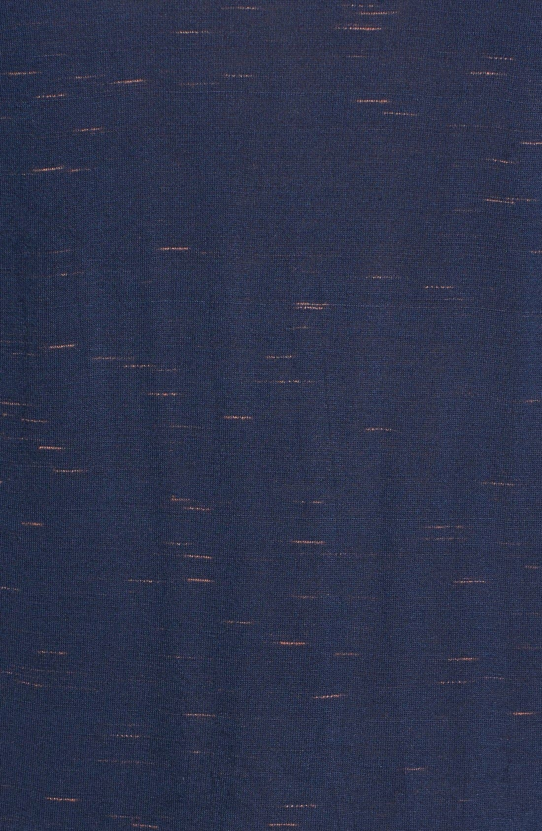 'Tracer' Mélange Knit Tee,                             Alternate thumbnail 3, color,                             410