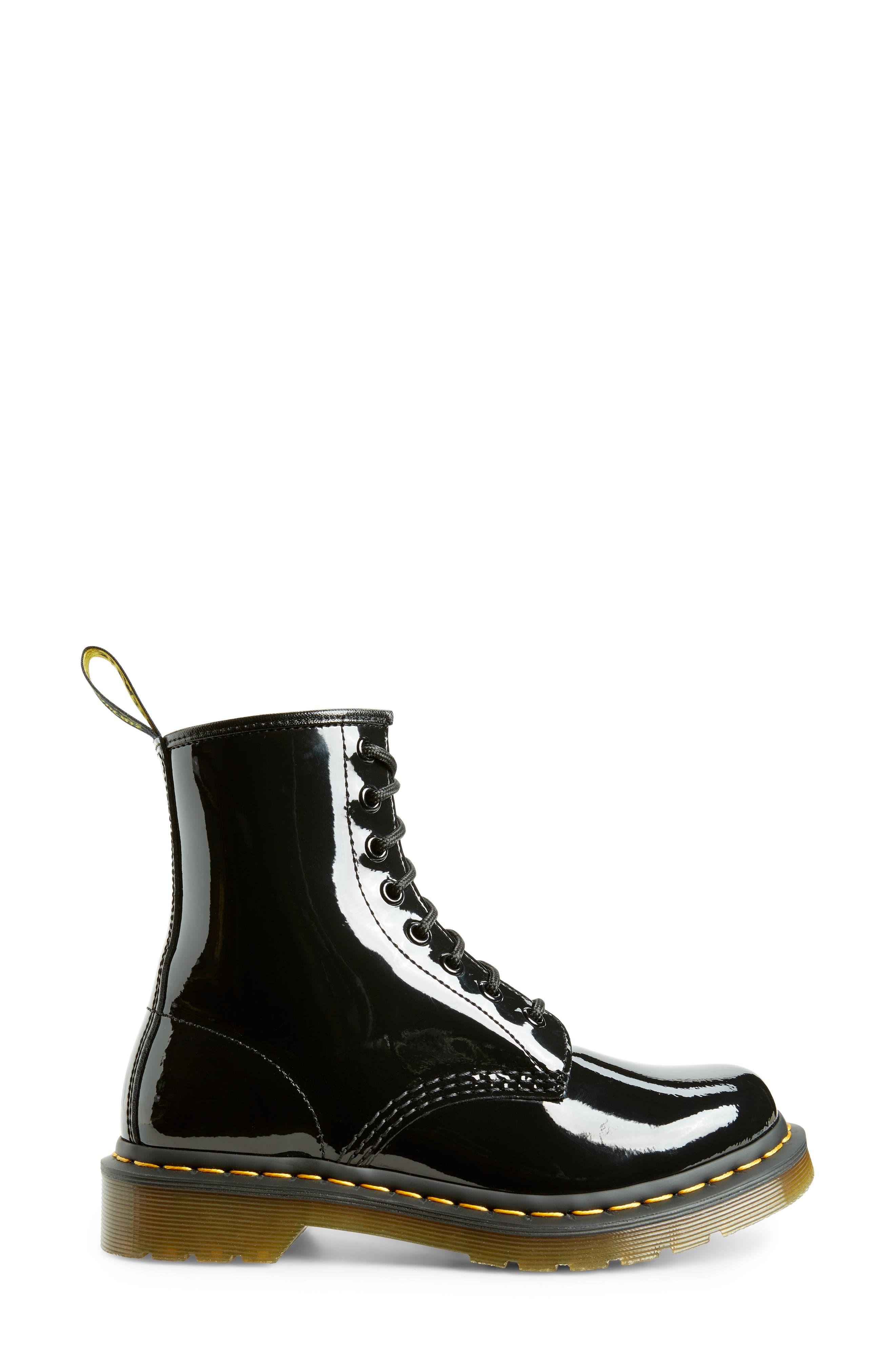 '1460' Boot,                             Alternate thumbnail 3, color,                             011