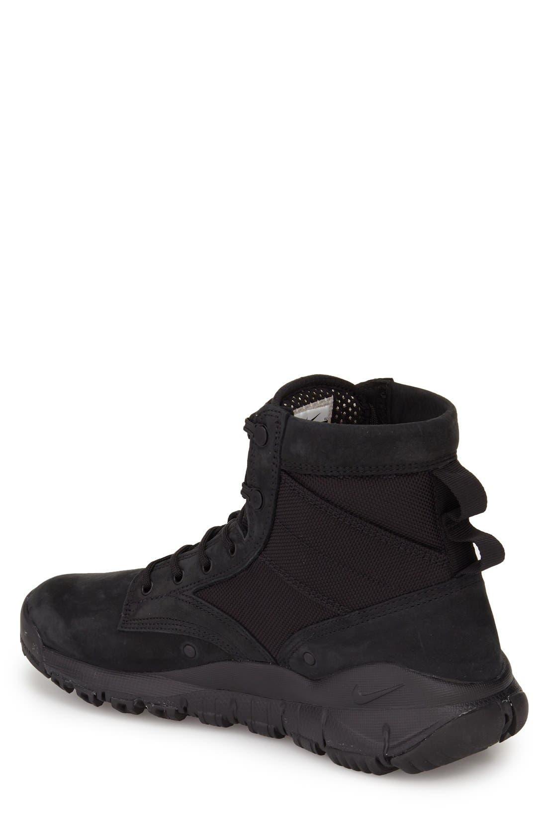 'SFB' Plain Toe Boot,                             Alternate thumbnail 2, color,                             001