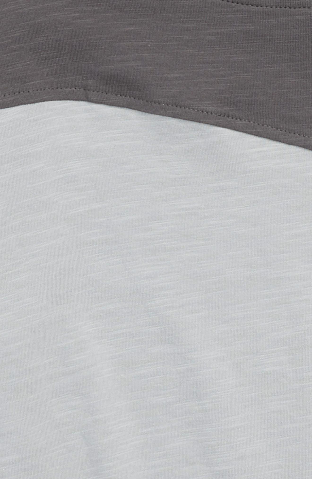 Diagonal Washed T-Shirt,                             Alternate thumbnail 2, color,                             050