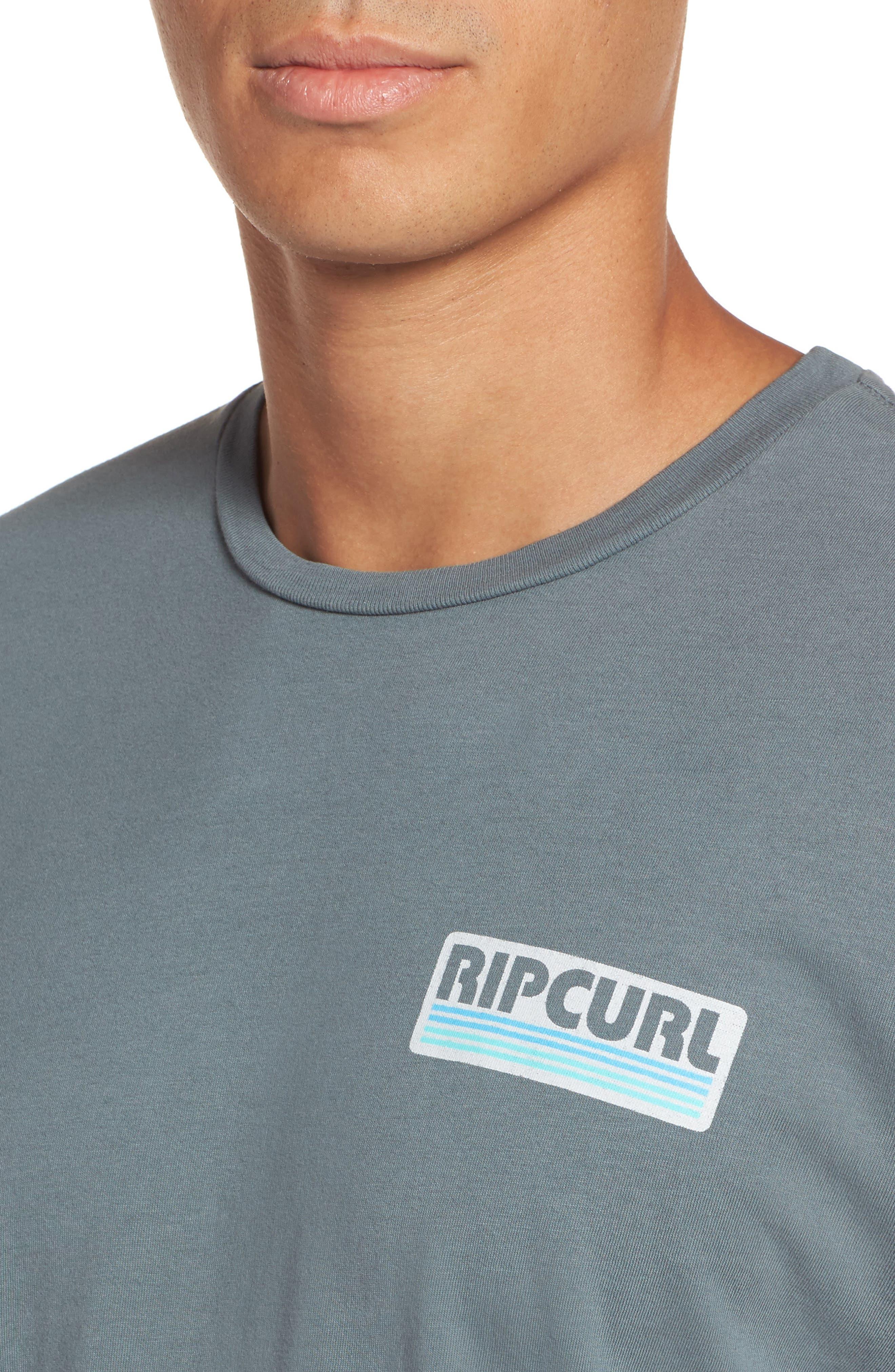 The Pump Long Sleeve Logo Graphic T-Shirt,                             Alternate thumbnail 4, color,                             443