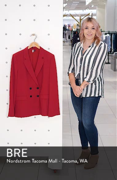 Slouch Suit Blazer, sales video thumbnail