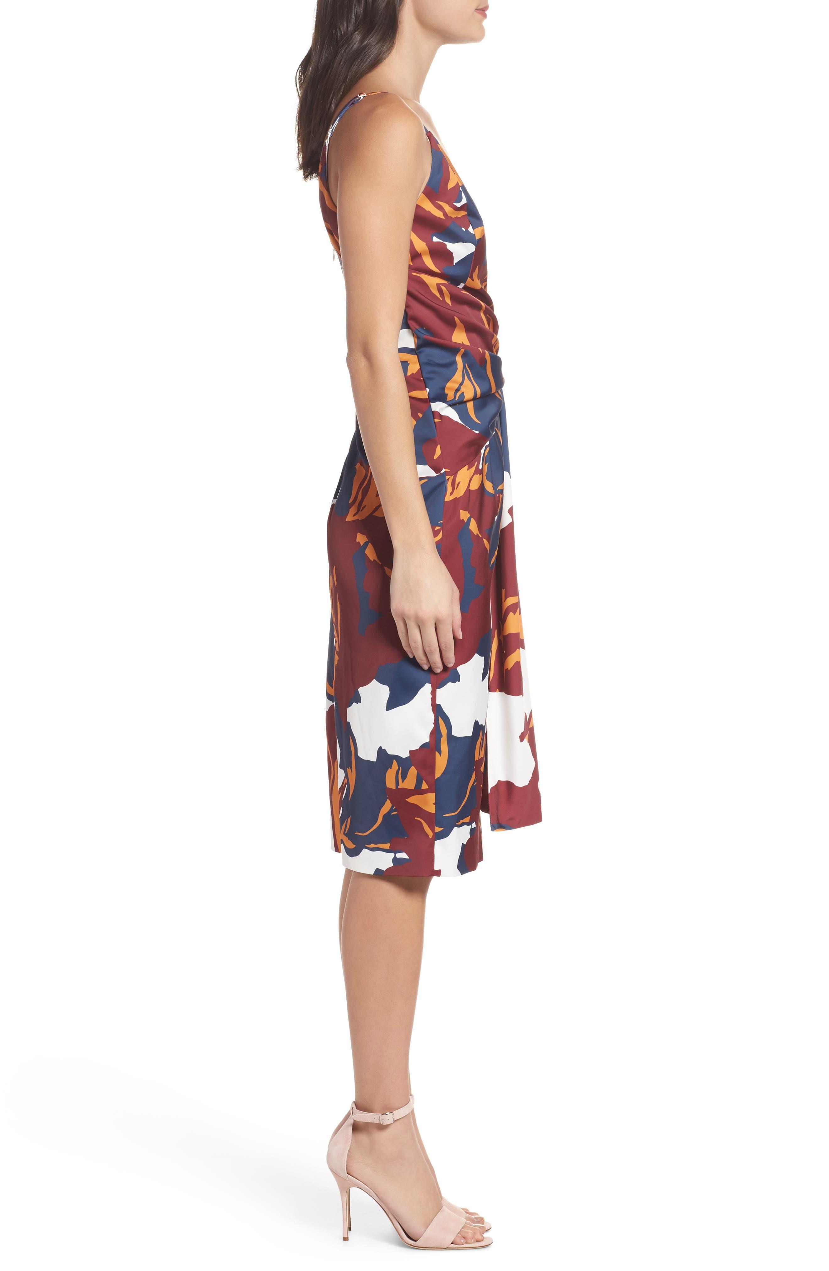 C/MEO COLLECTIVE,                             Vanish Surplice Dress,                             Alternate thumbnail 3, color,                             400