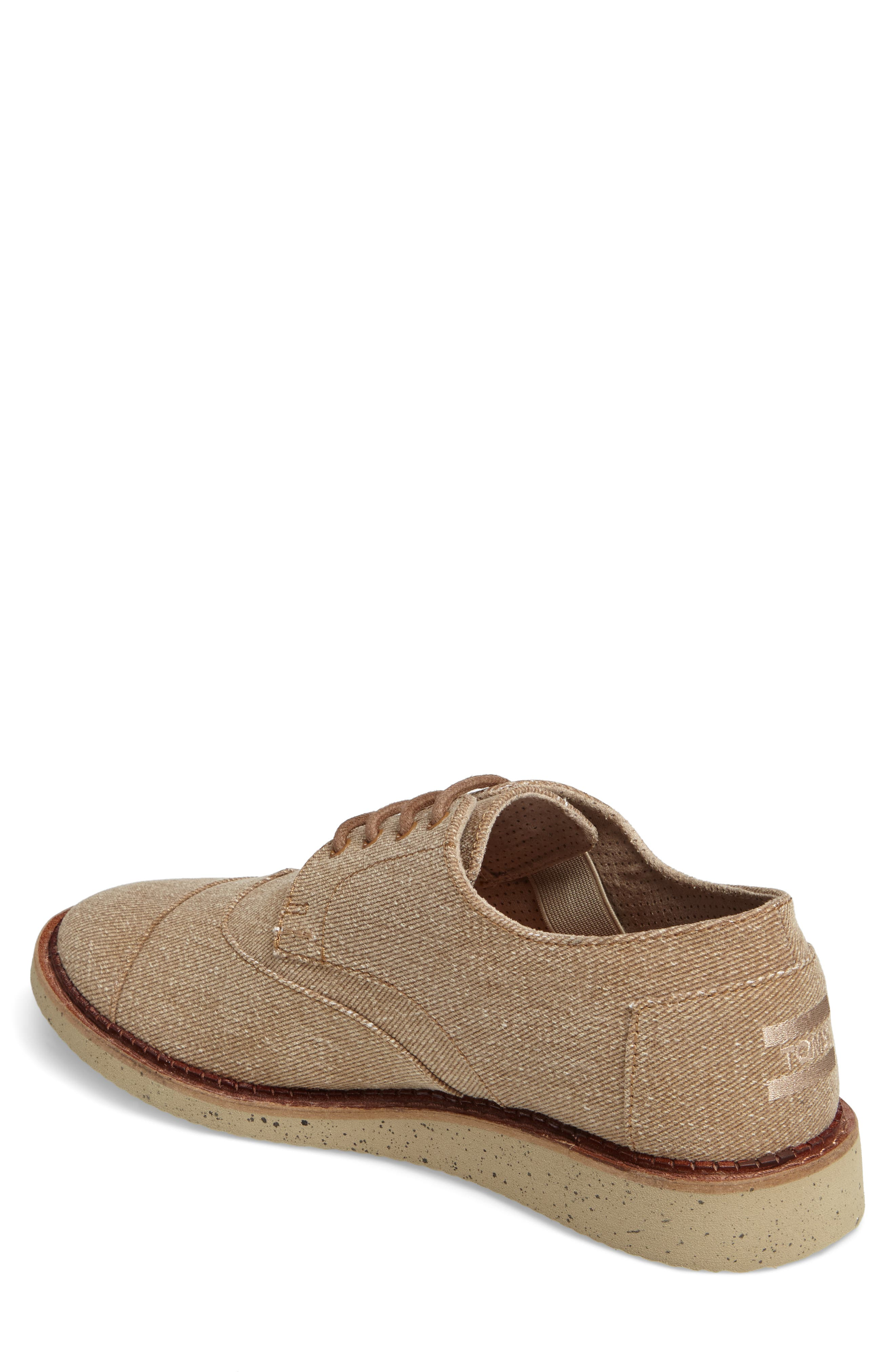 'Classic Brogue' Cotton Twill Derby,                             Alternate thumbnail 26, color,