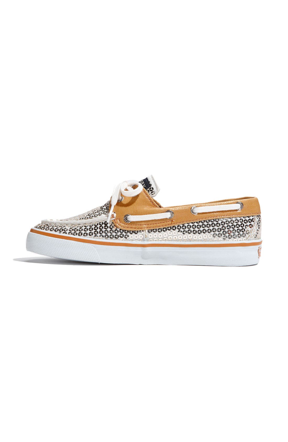Top-Sider<sup>®</sup> 'Bahama' Sequined Boat Shoe,                             Alternate thumbnail 126, color,