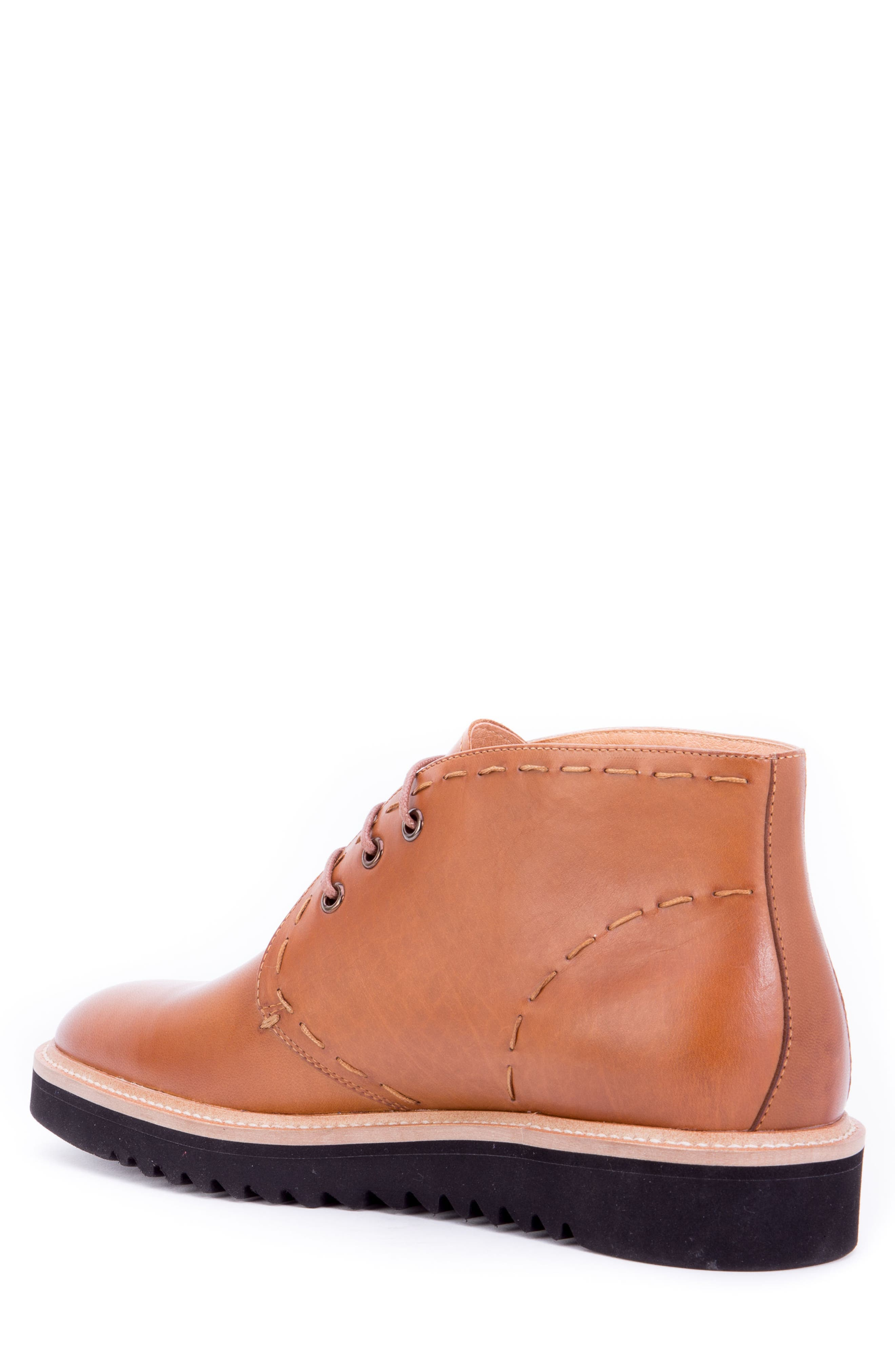 Lombardo Chukka Boot,                             Alternate thumbnail 2, color,                             COGNAC LEATHER