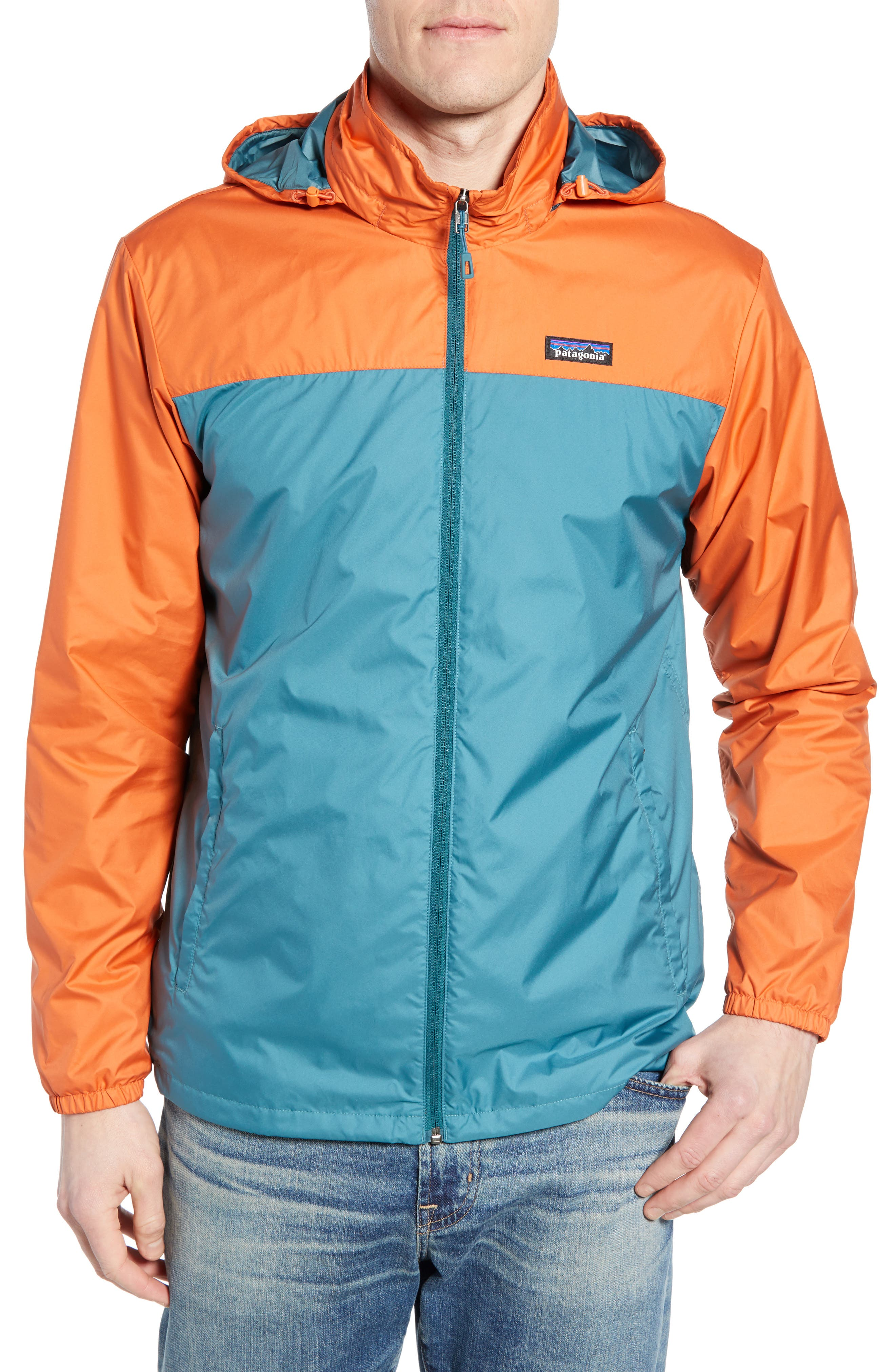 Light & Variable<sup>™</sup> Wind & Water Resistant Hooded Jacket,                             Alternate thumbnail 4, color,                             440