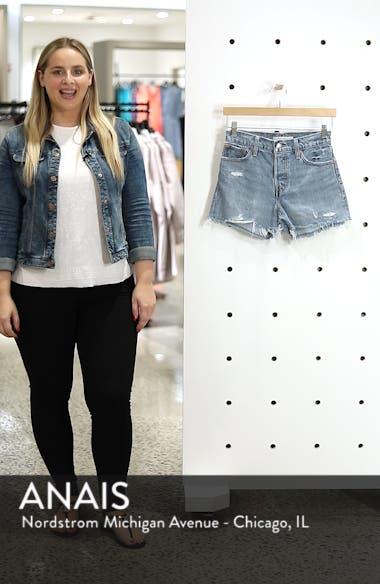 Wedgie High Waist Cutoff Denim Shorts, sales video thumbnail