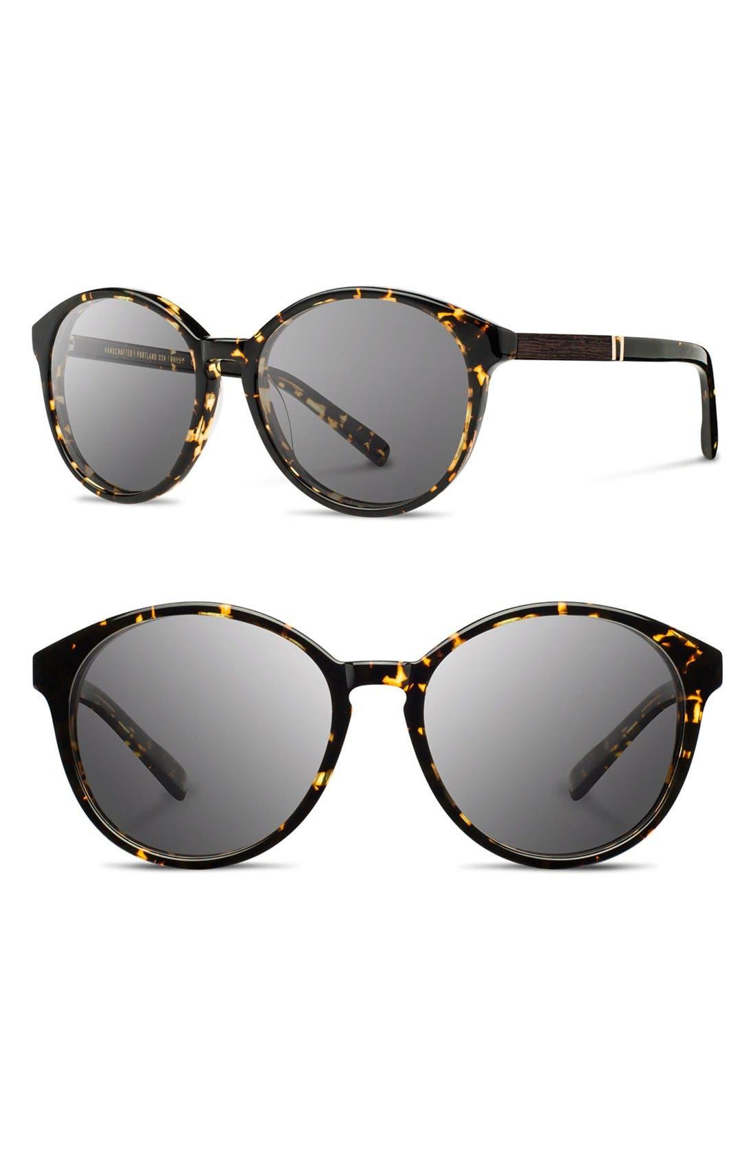 'Bailey' 53mm Round Sunglasses,                             Main thumbnail 4, color,