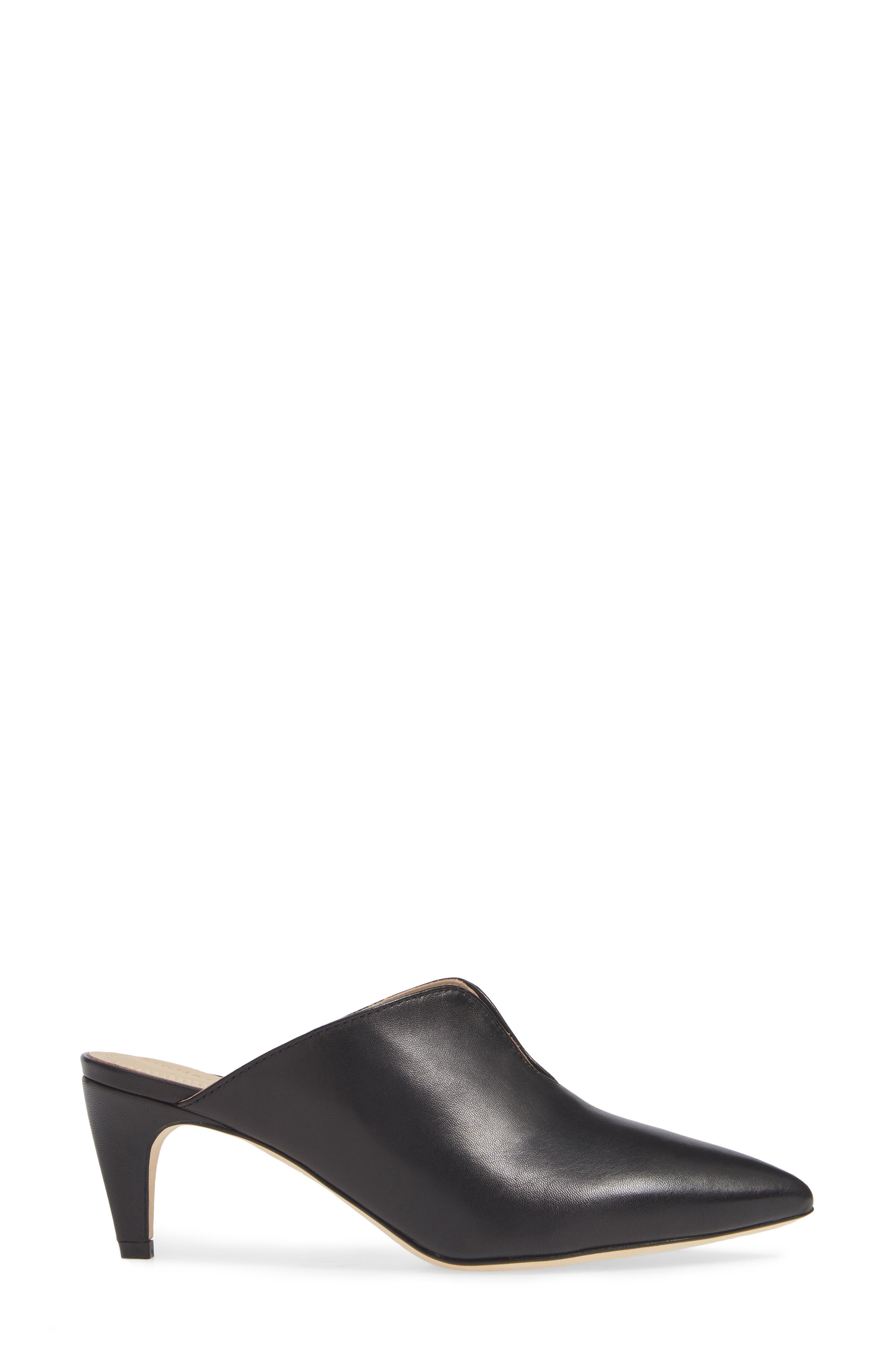 Allegra Notched Mule,                             Alternate thumbnail 3, color,                             001