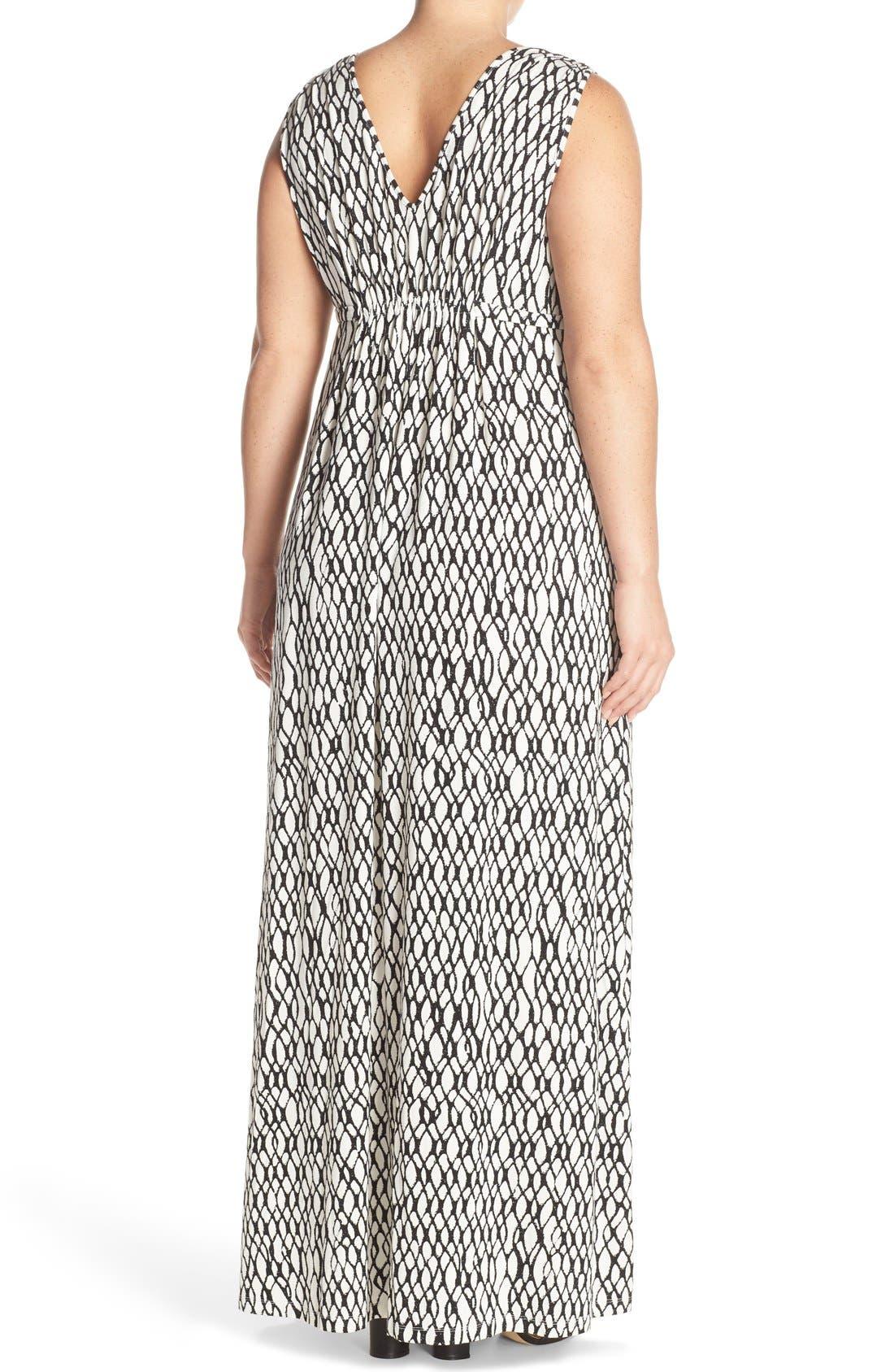 Grecia Sleeveless Jersey Maxi Dress,                             Alternate thumbnail 40, color,