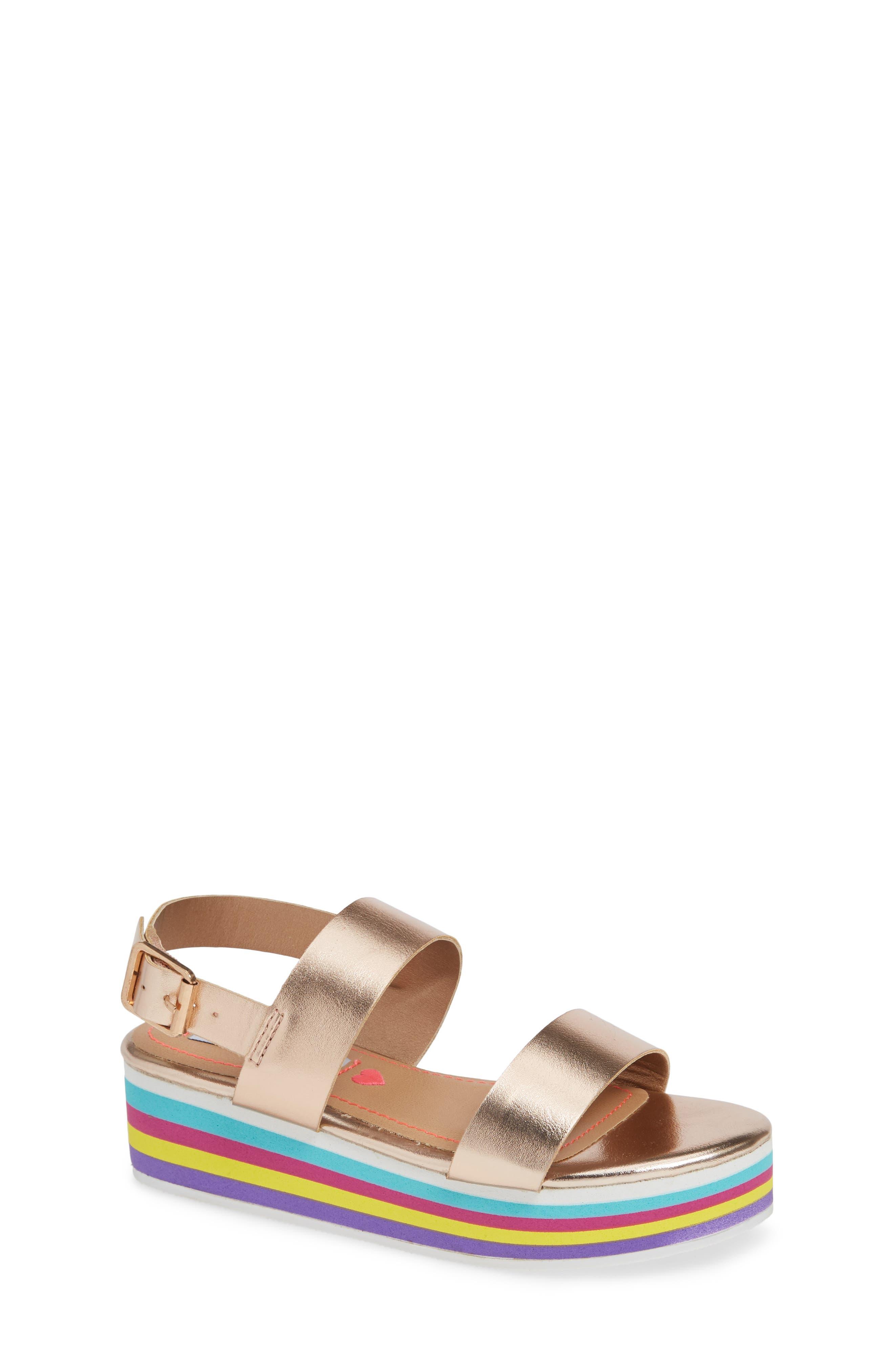 JKylie Platform Sandal,                         Main,                         color, ROSE GOLD