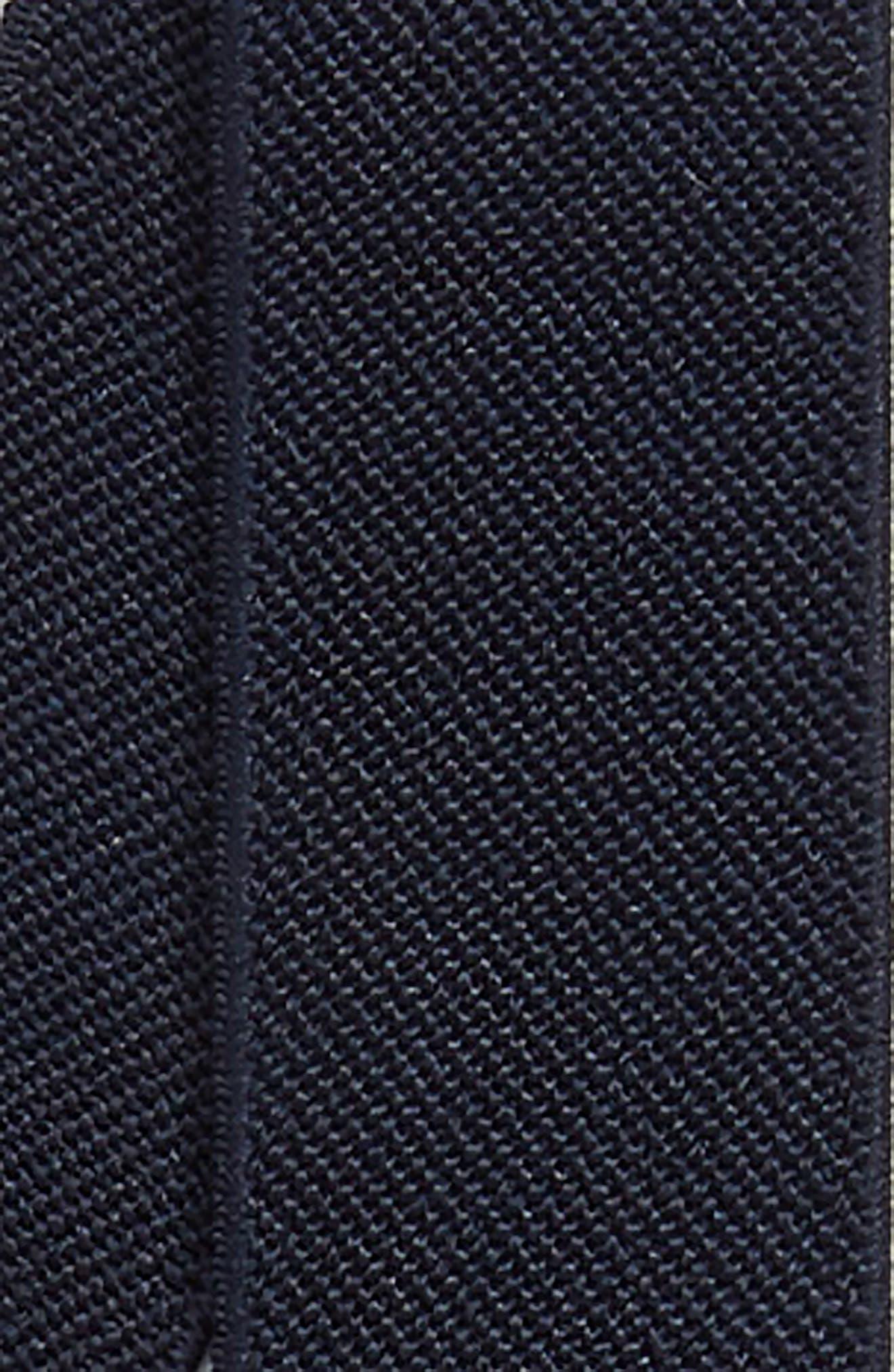 Plaid Bow Tie & Suspender Set,                             Alternate thumbnail 2, color,                             NAVY