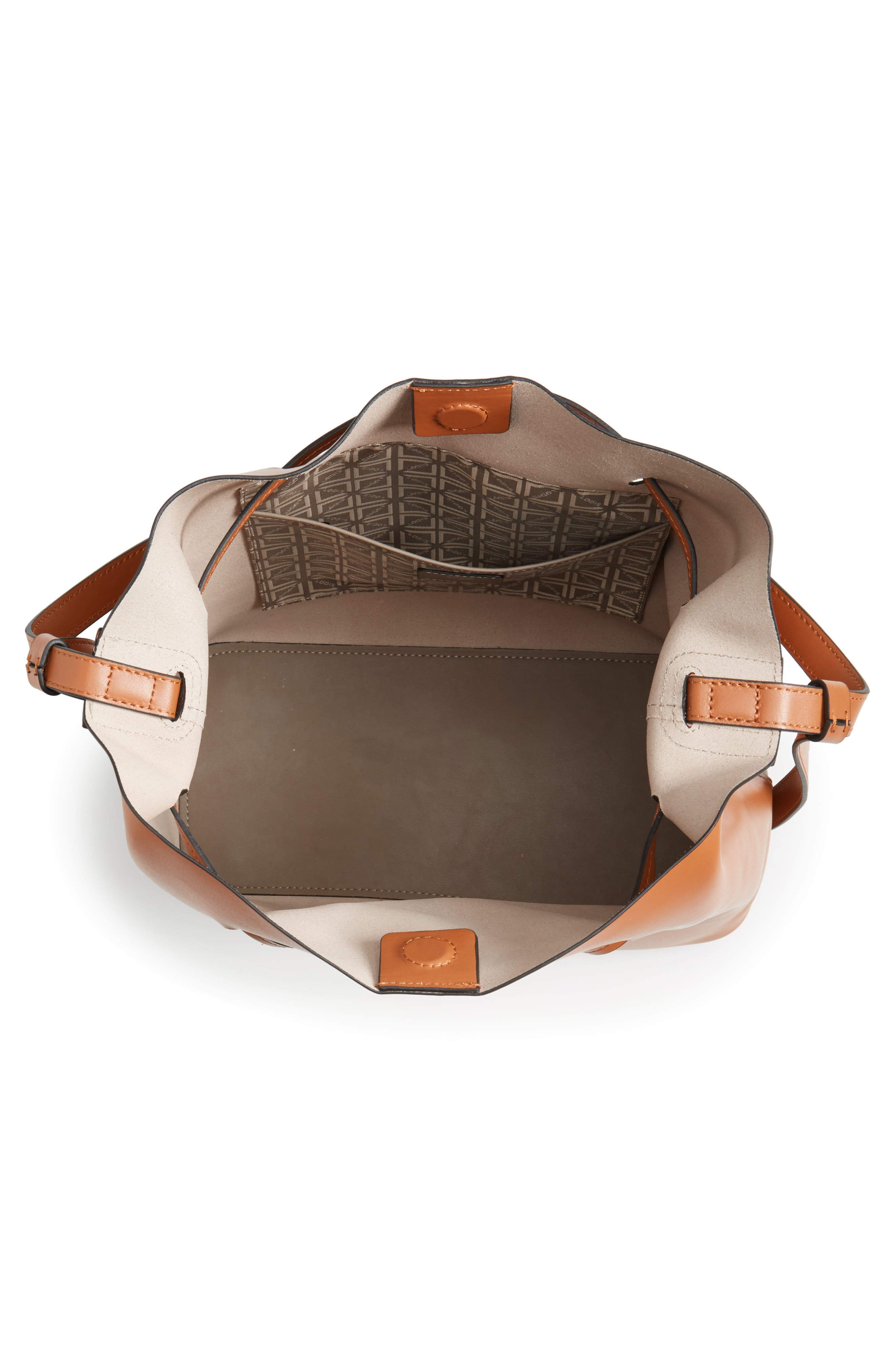 Silicon Valley Large Halina Leather Bucket Bag,                             Alternate thumbnail 11, color,