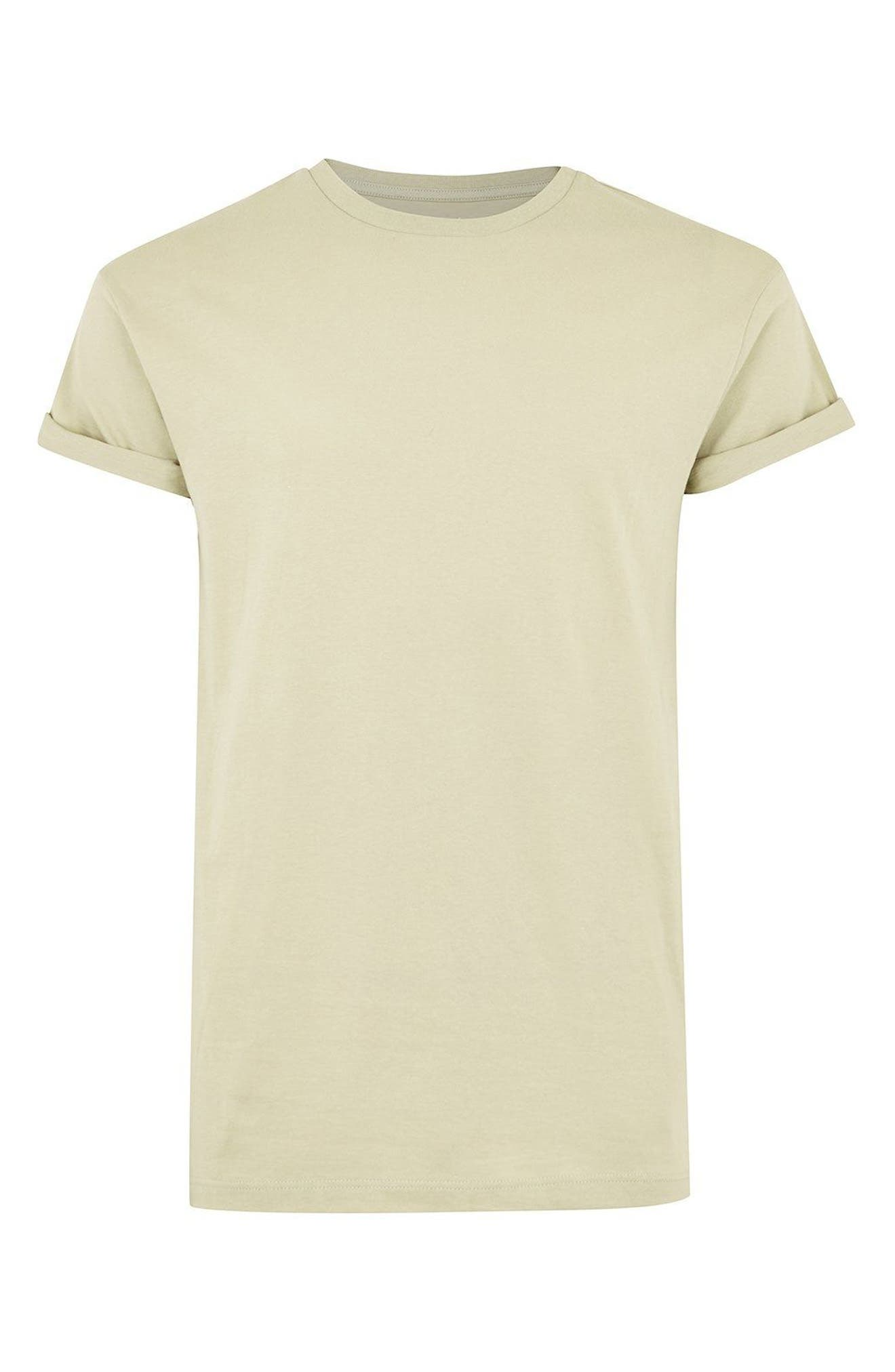 Muscle Fit Roller T-Shirt,                             Alternate thumbnail 3, color,                             330