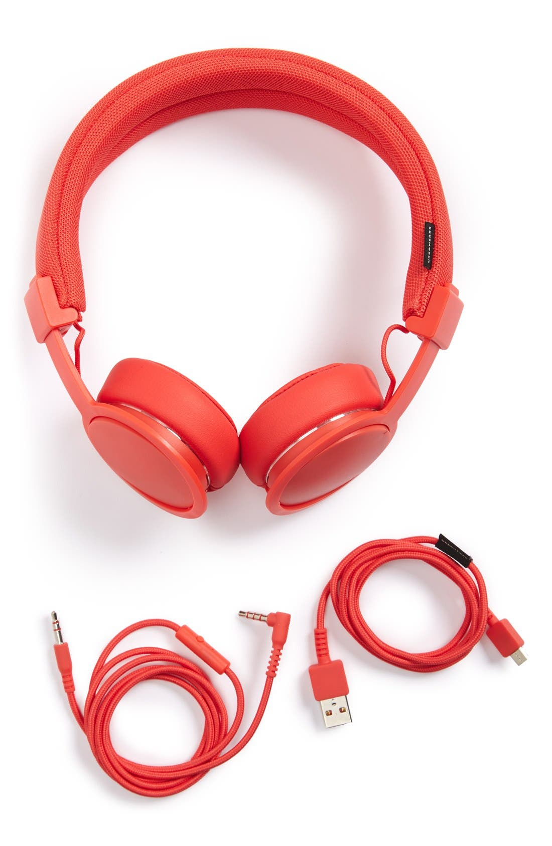 'Plattan ADV Wireless' Bluetooth<sup>®</sup> On-Ear Headphones,                         Main,                         color, TOMATO