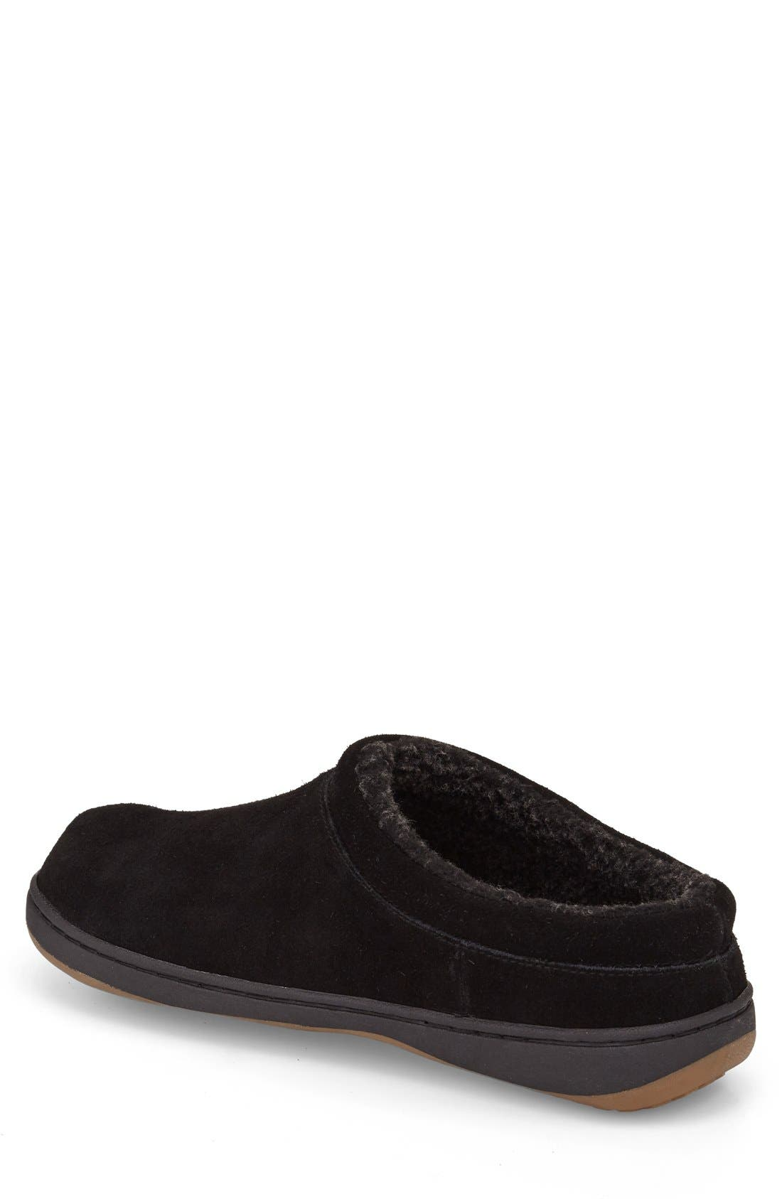Arlow Slipper,                             Alternate thumbnail 2, color,                             BLACK