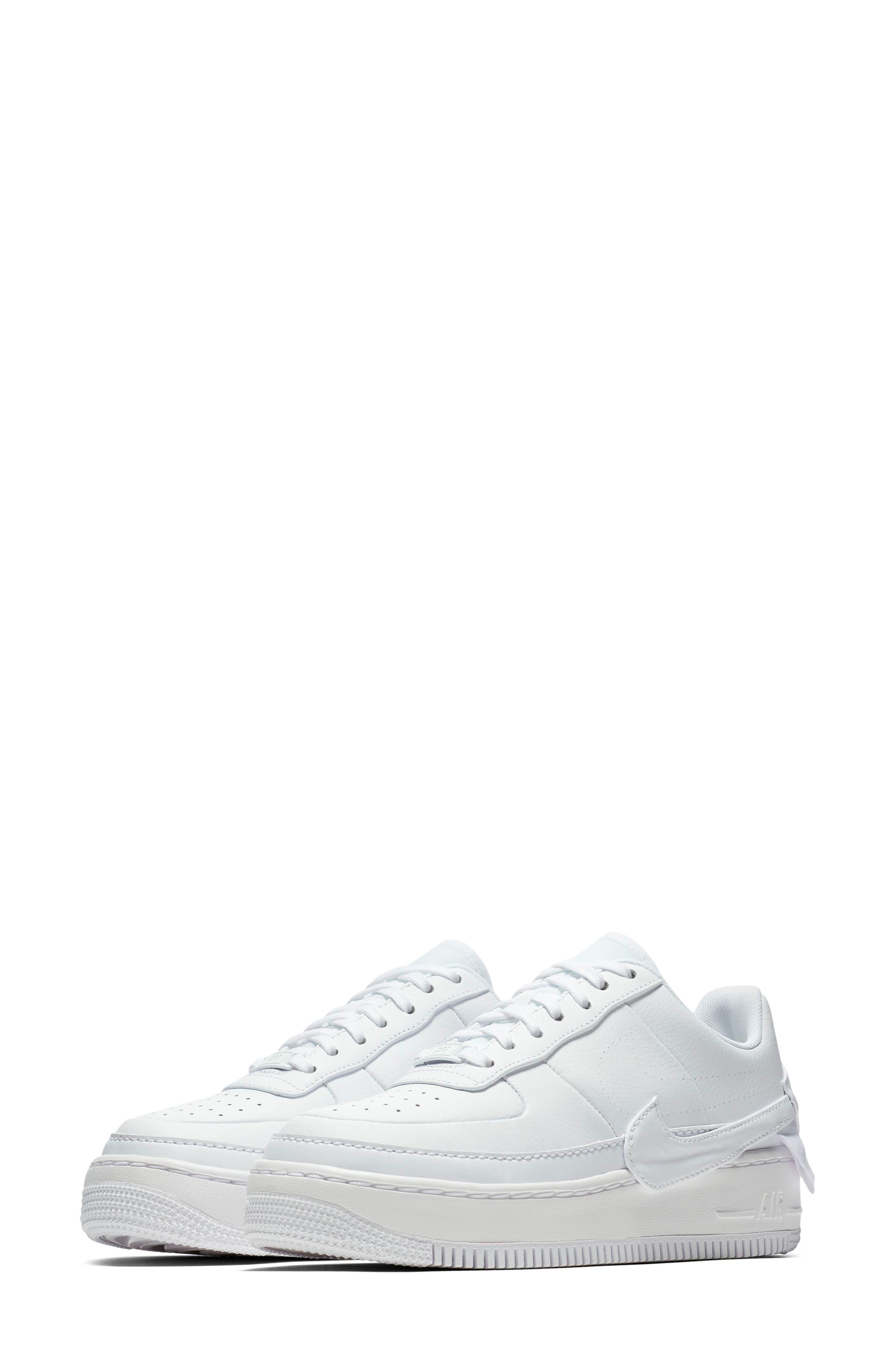 Air Force 1 Jester XX Sneaker,                             Main thumbnail 1, color,                             WHITE/ WHITE-BLACK