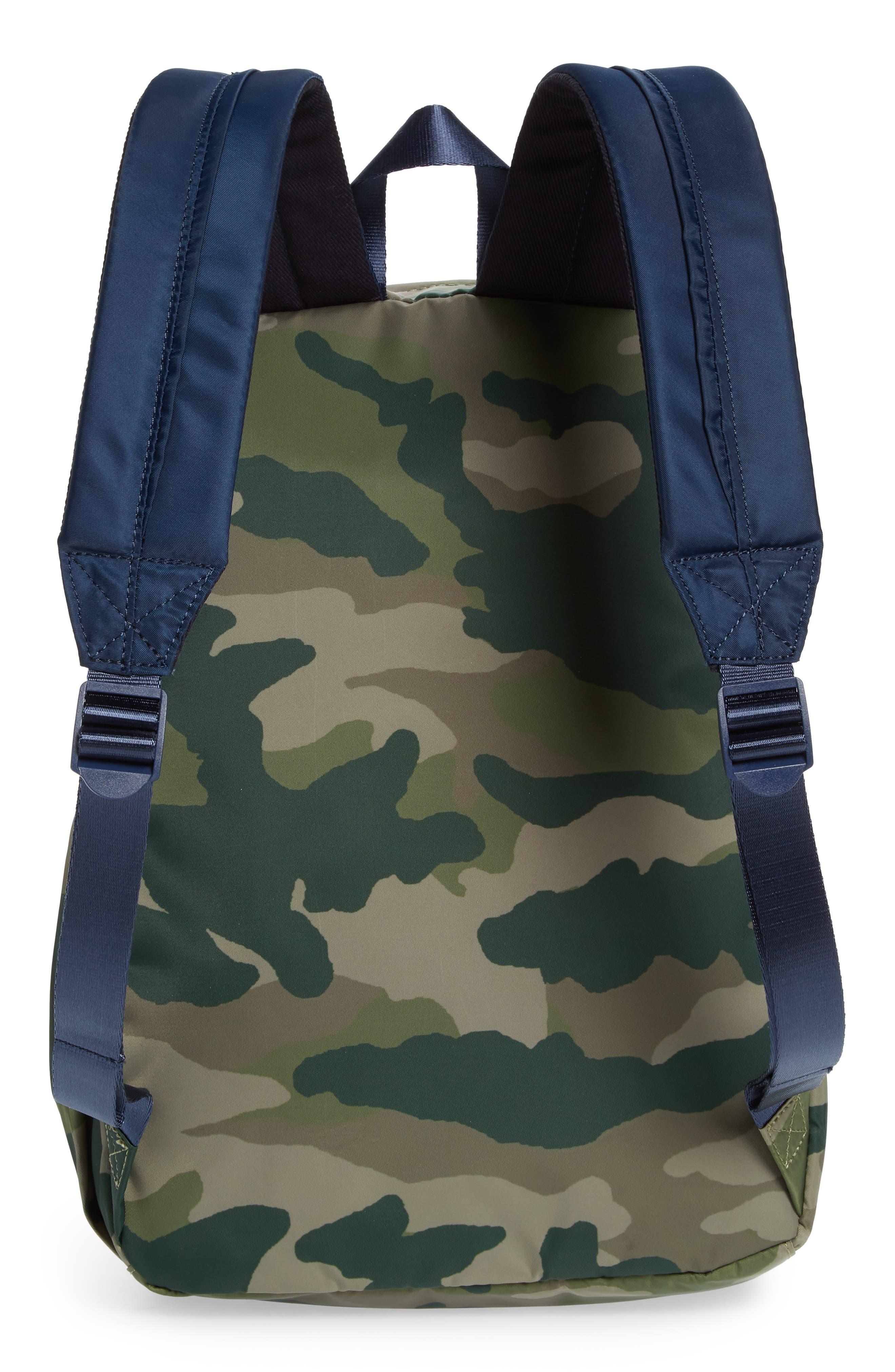 Camo Backpack,                             Alternate thumbnail 2, color,                             300