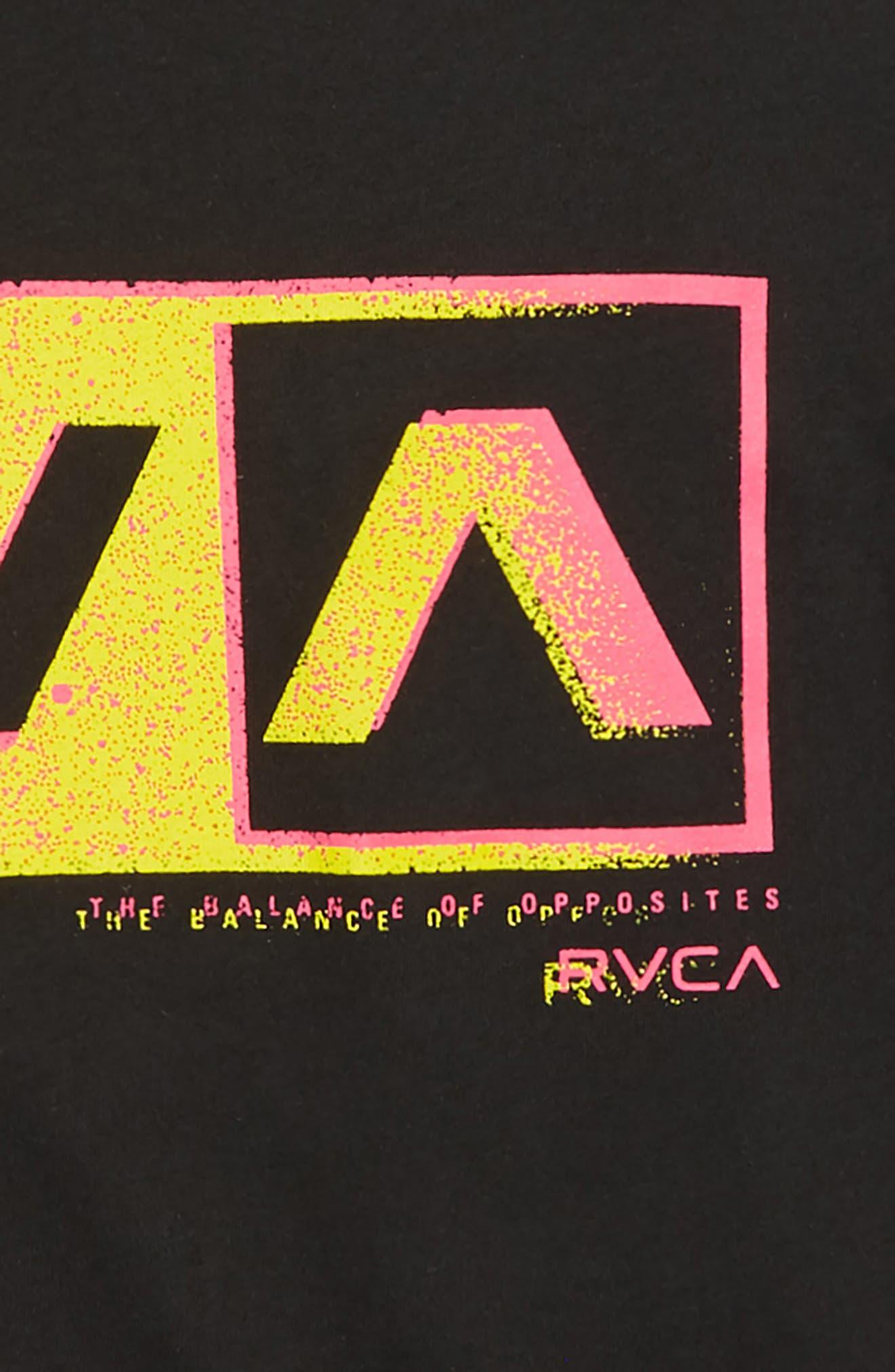 Static Box Graphic T-Shirt,                             Alternate thumbnail 2, color,                             001