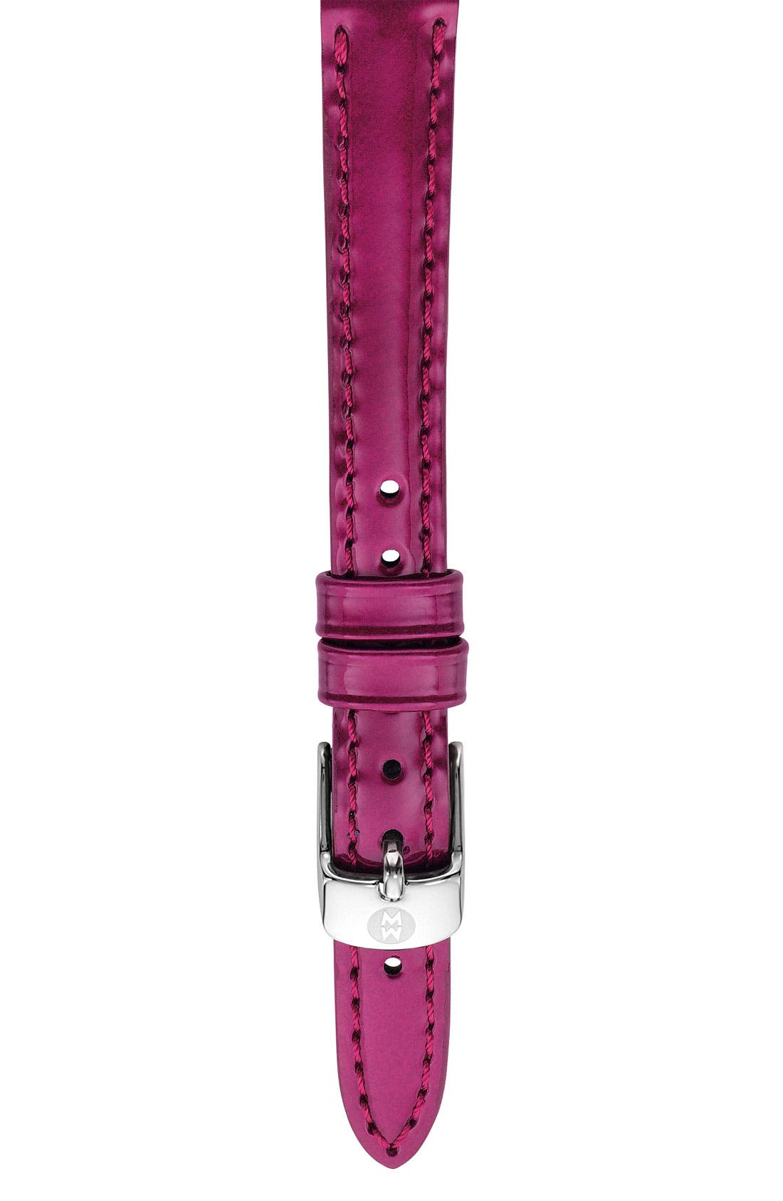 12mm Patent Leather Watch Strap,                             Main thumbnail 8, color,