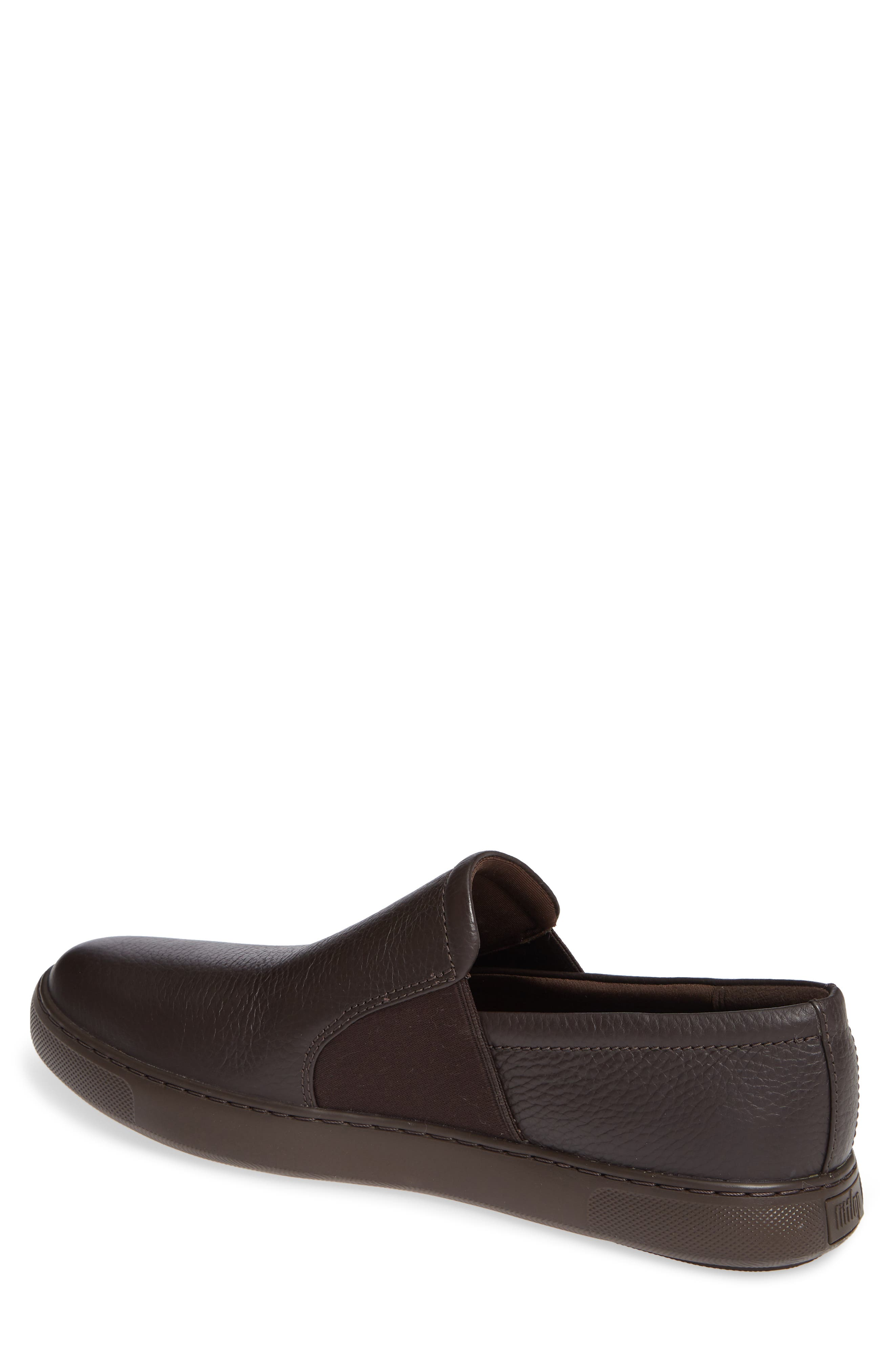 Collins Slip-On Sneaker,                             Alternate thumbnail 2, color,                             CHOCOLATE