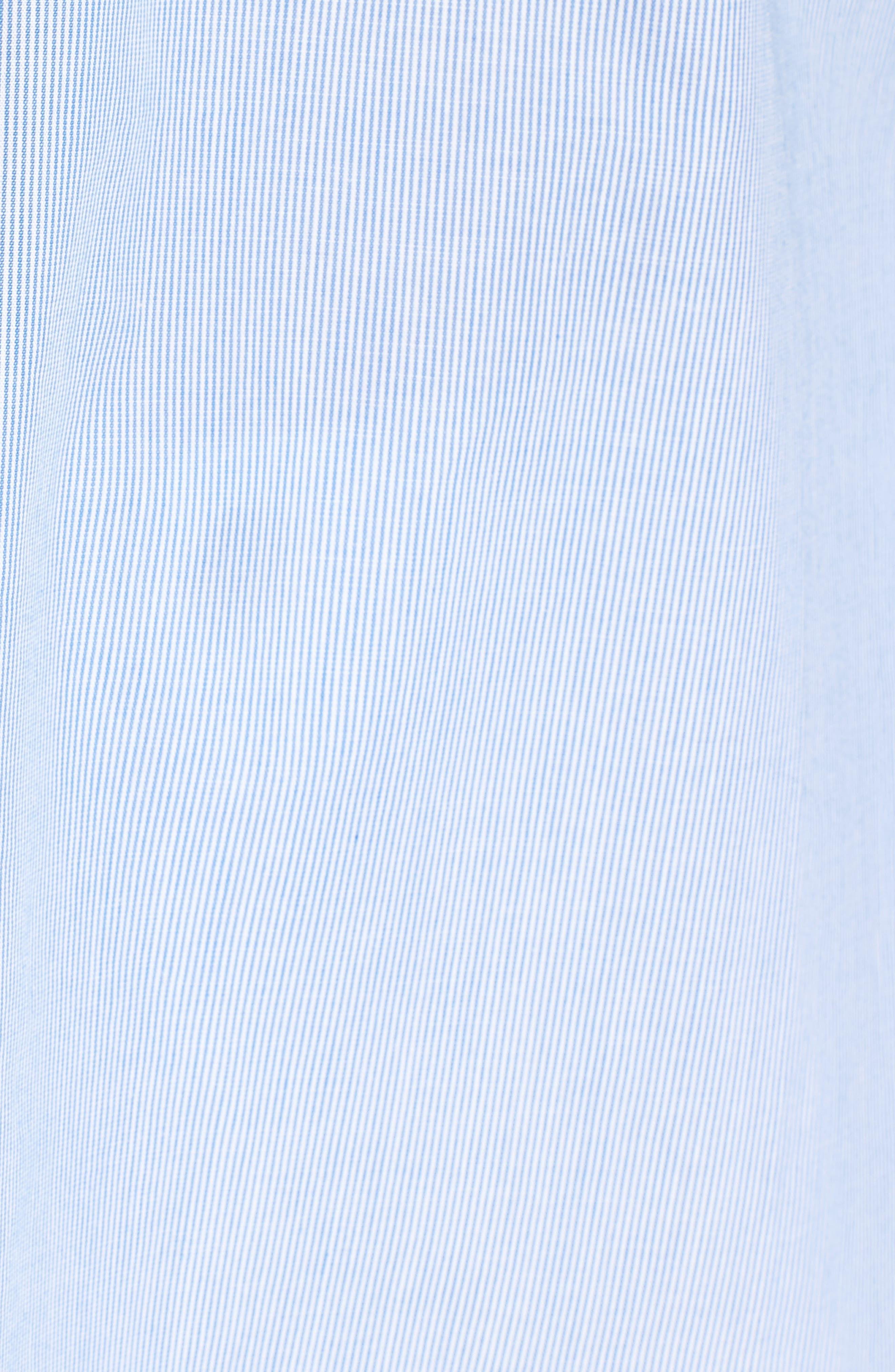 Cotton Ruffle Off the Shoulder Blouse,                             Alternate thumbnail 5, color,                             454