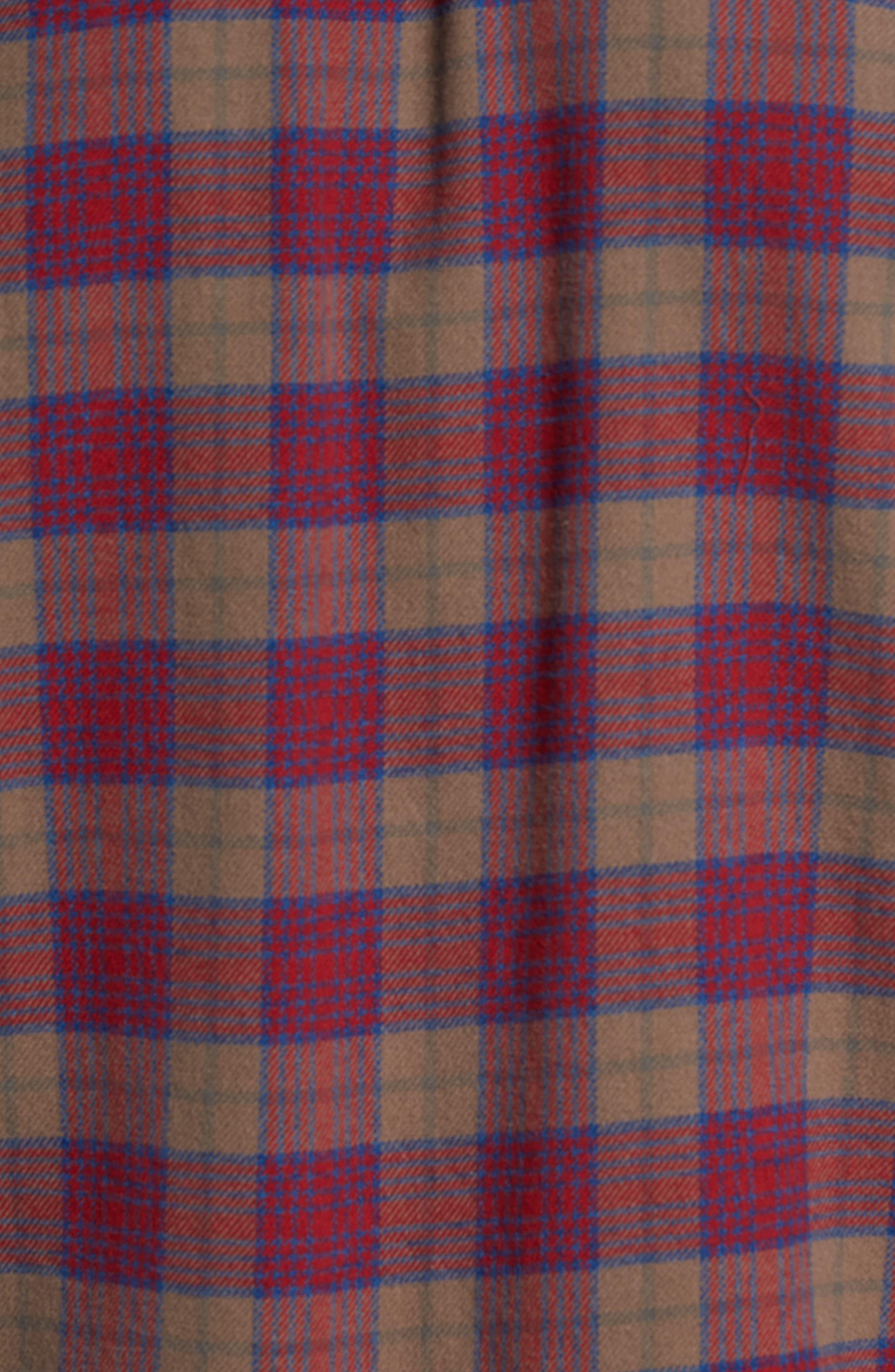 'That'll Work' Trim Fit Plaid Flannel Shirt,                             Alternate thumbnail 24, color,