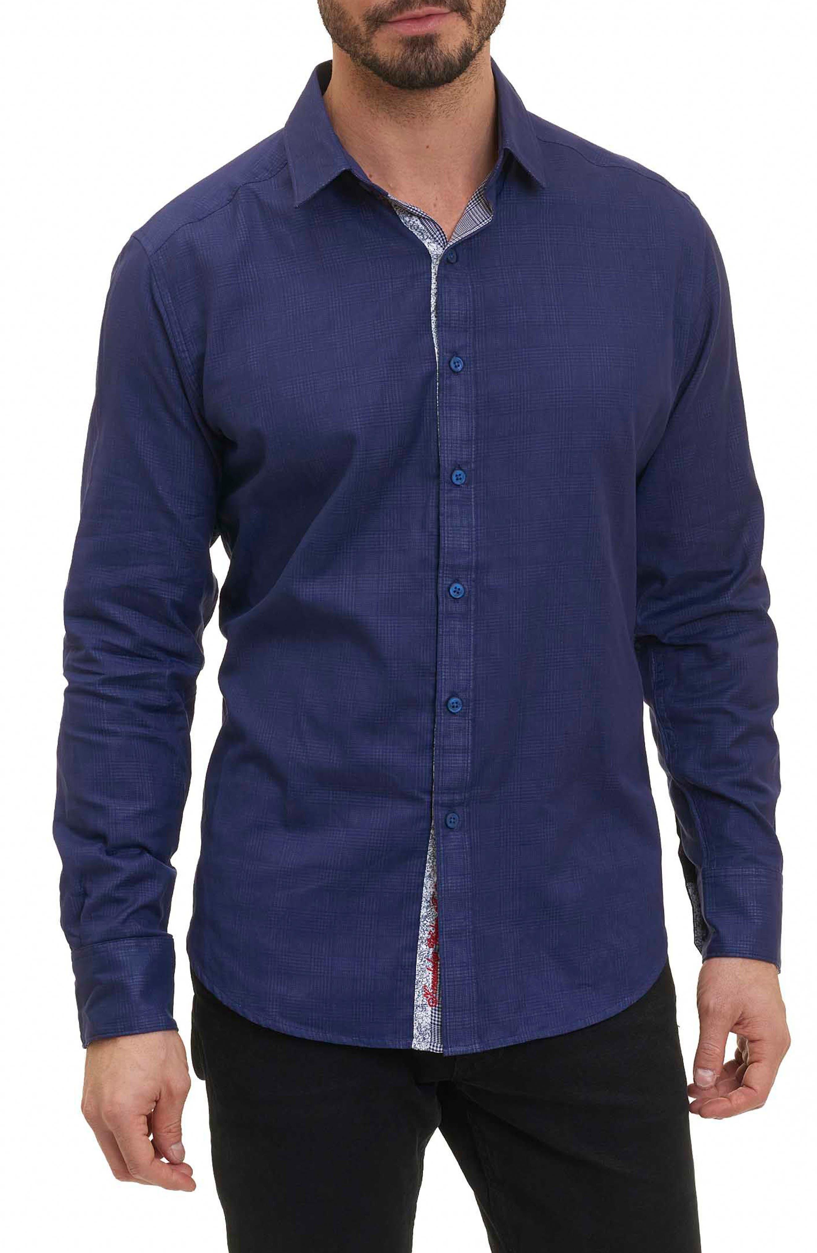 Amin Check Sport Shirt,                             Main thumbnail 1, color,