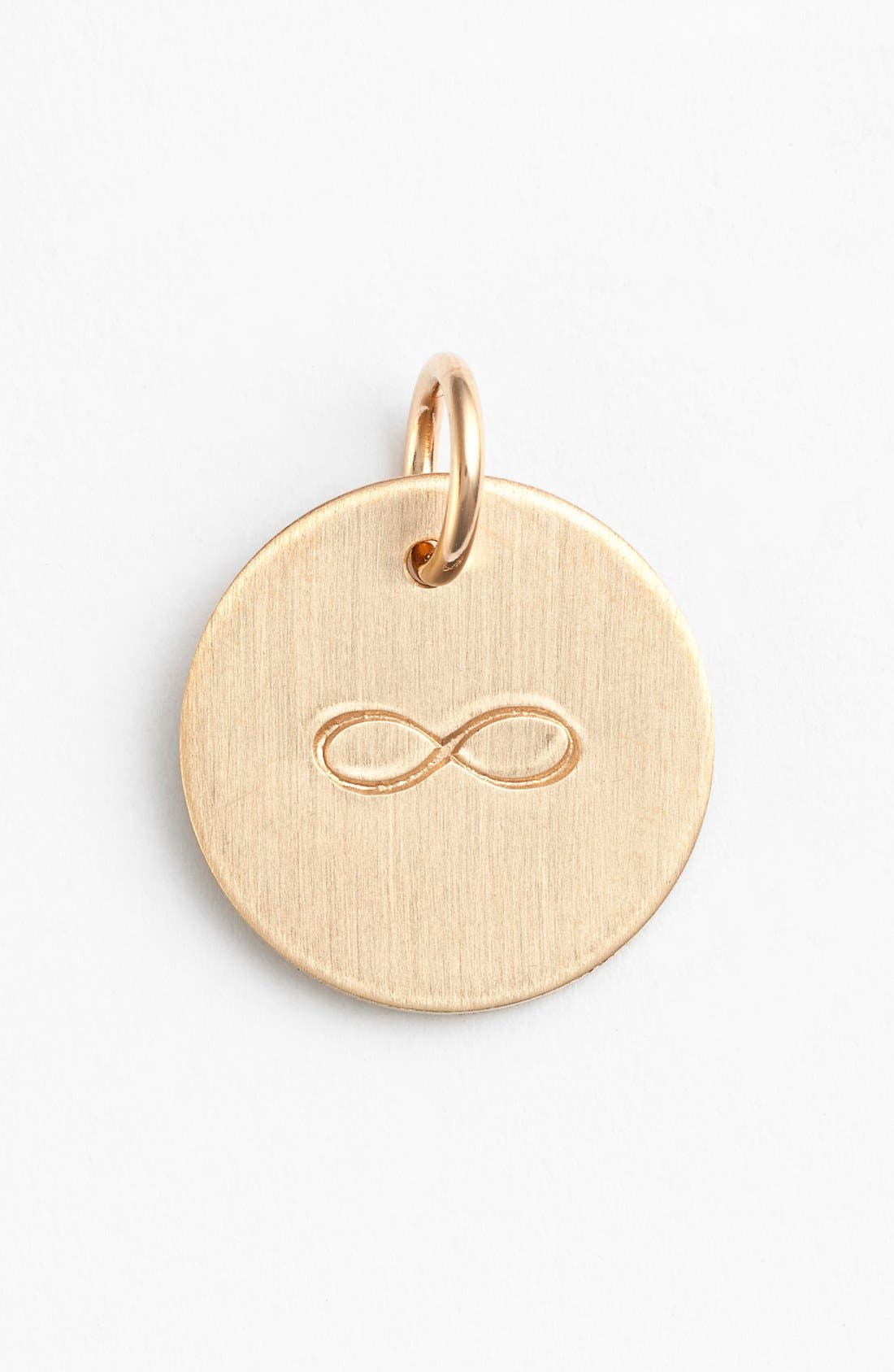 Infinity Stamp Charm,                             Main thumbnail 3, color,