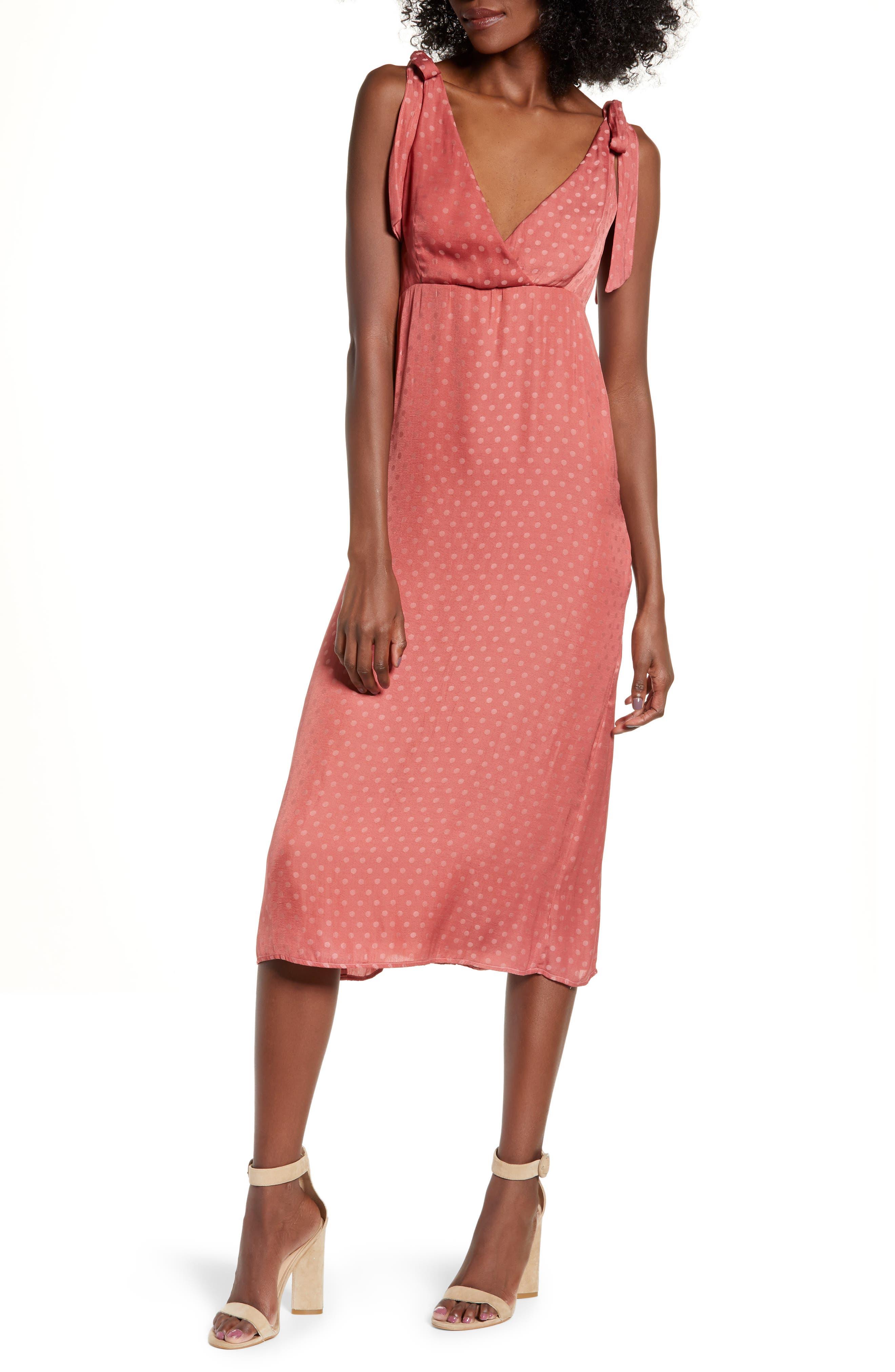 Show Me Your Mumu Arlene Midi Dress, Pink