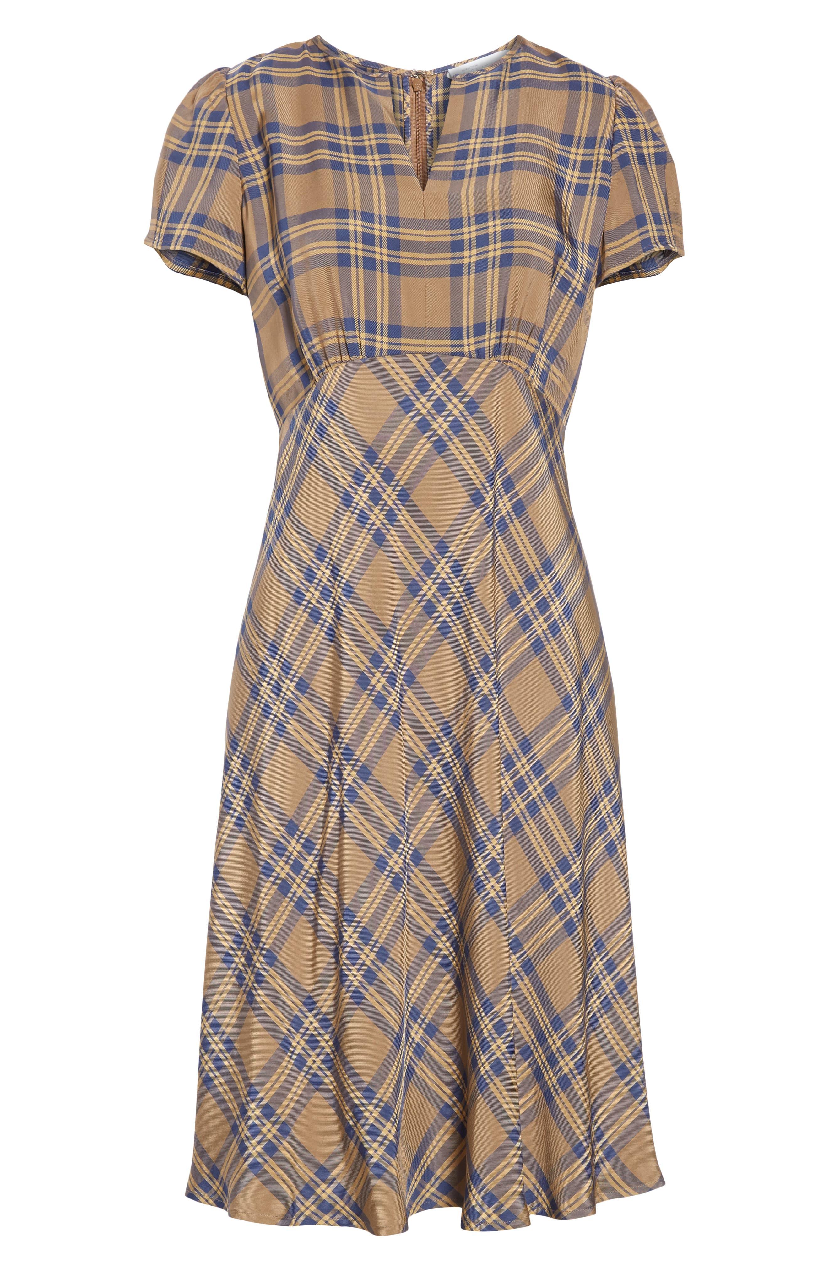 Check Dress,                             Alternate thumbnail 7, color,                             210