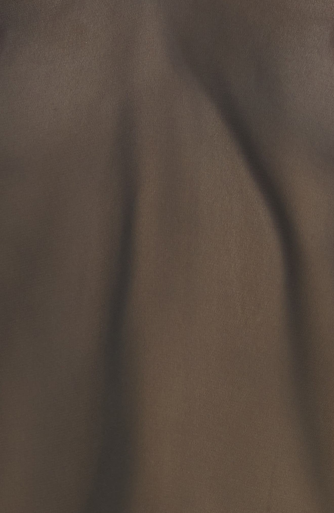 Copper Sheer Short Pajamas,                             Alternate thumbnail 5, color,                             BLACK