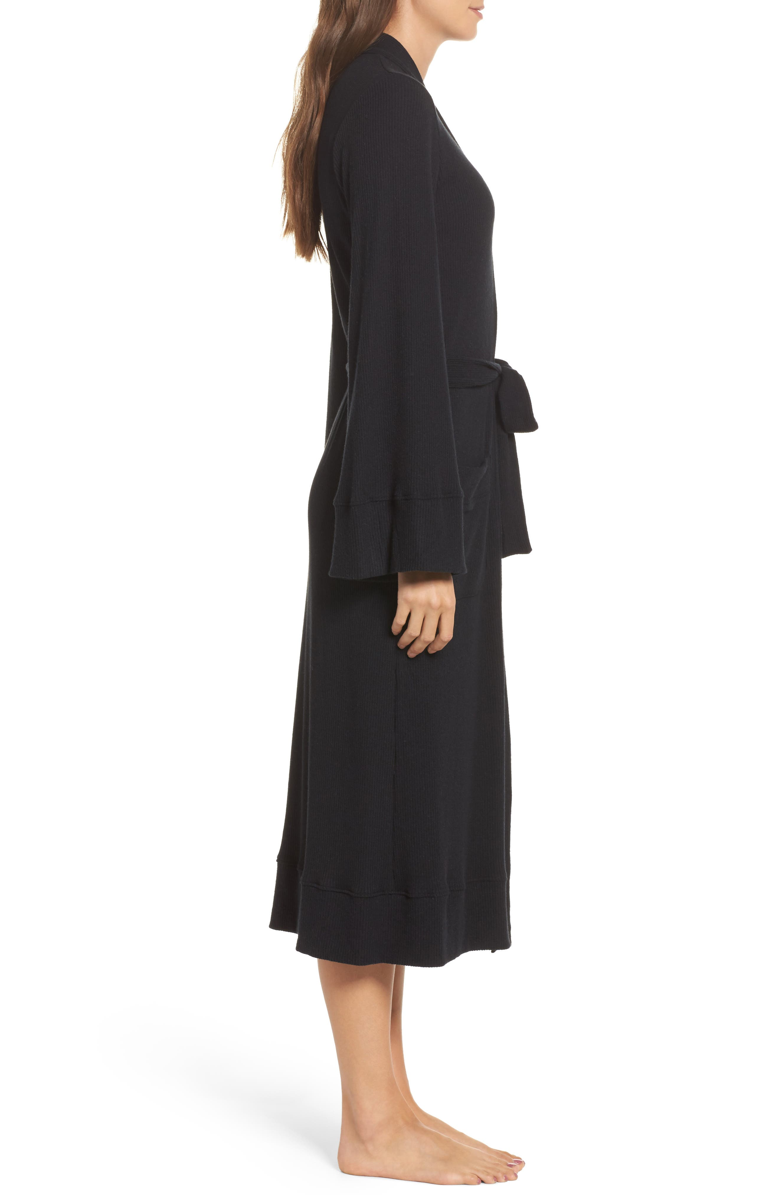 Love Knit Ribbed Robe,                             Alternate thumbnail 5, color,