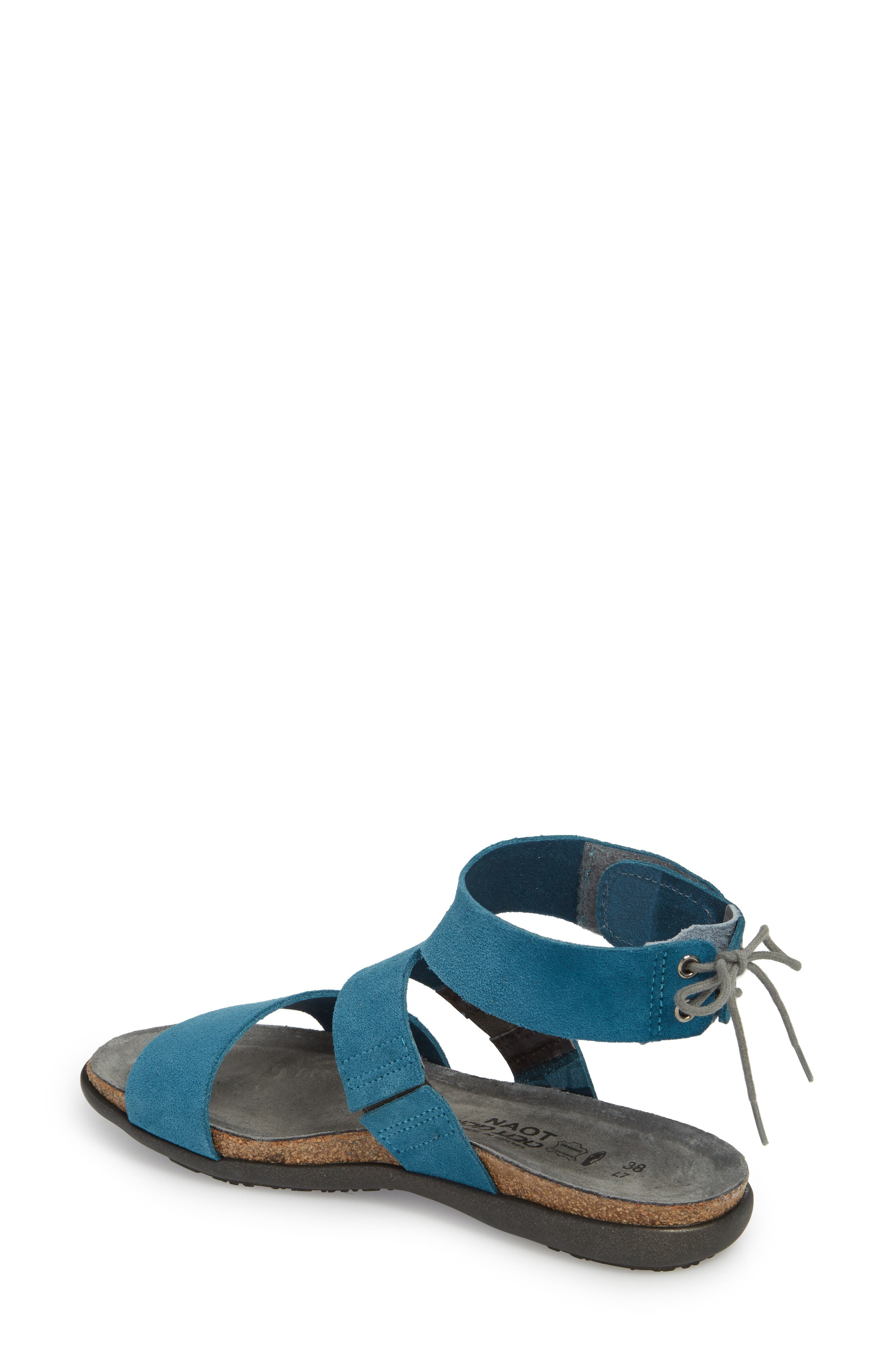 Larissa Ankle Strap Sandal,                             Alternate thumbnail 8, color,