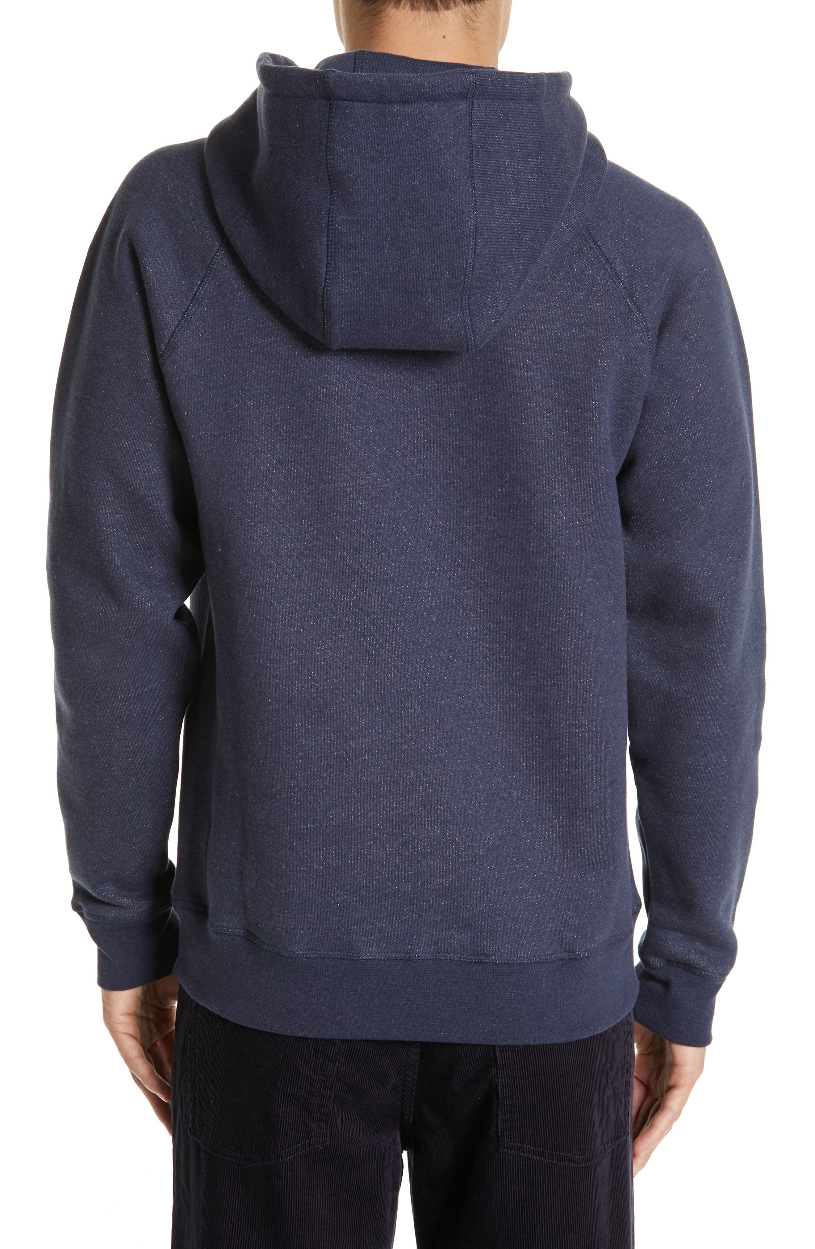 NORSE PROJECTS,                             Ketel Hoodie,                             Alternate thumbnail 2, color,                             DARK NAVY