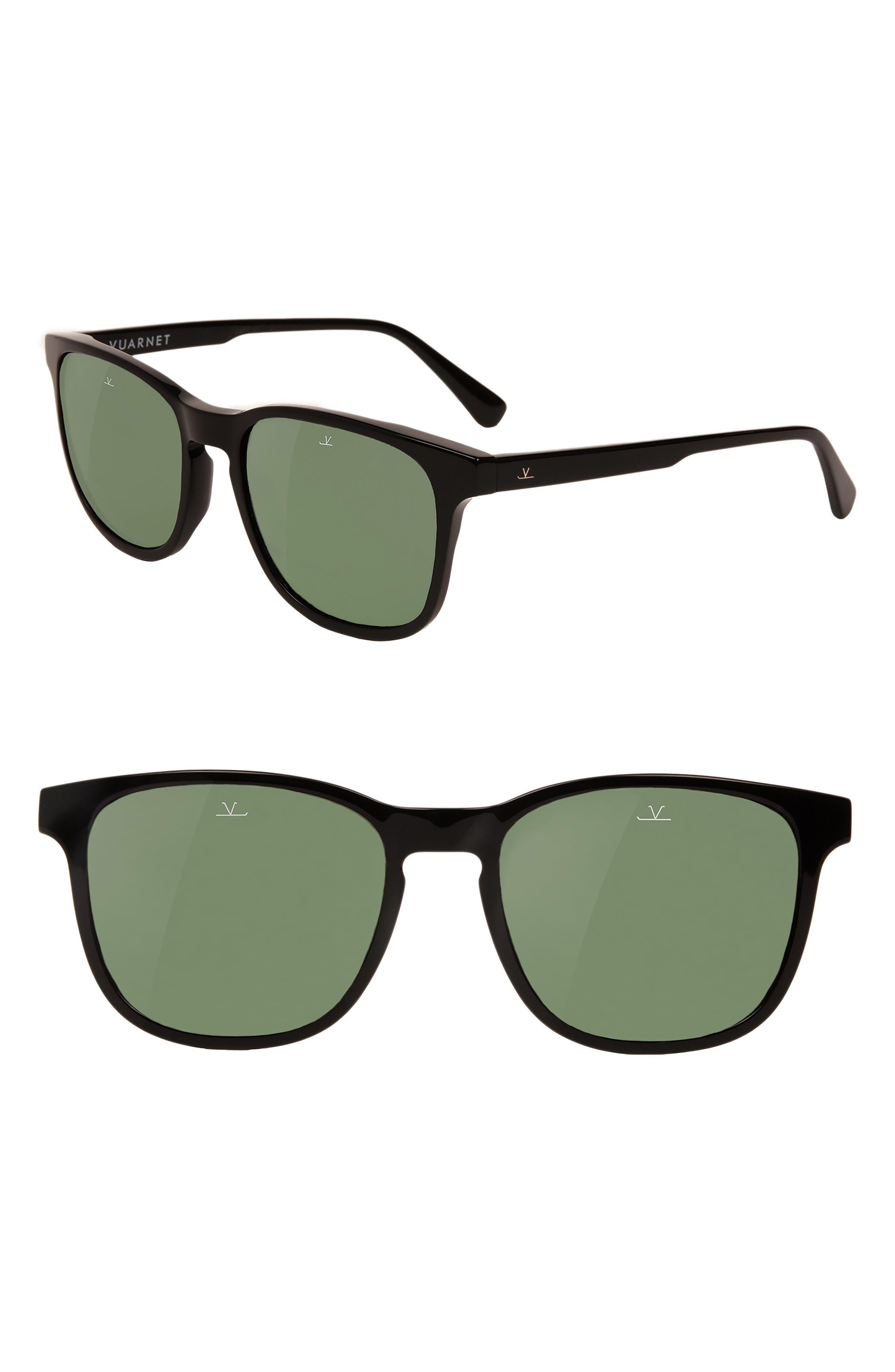 District Medium 53mm Sunglasses,                         Main,                         color, PURE GREY
