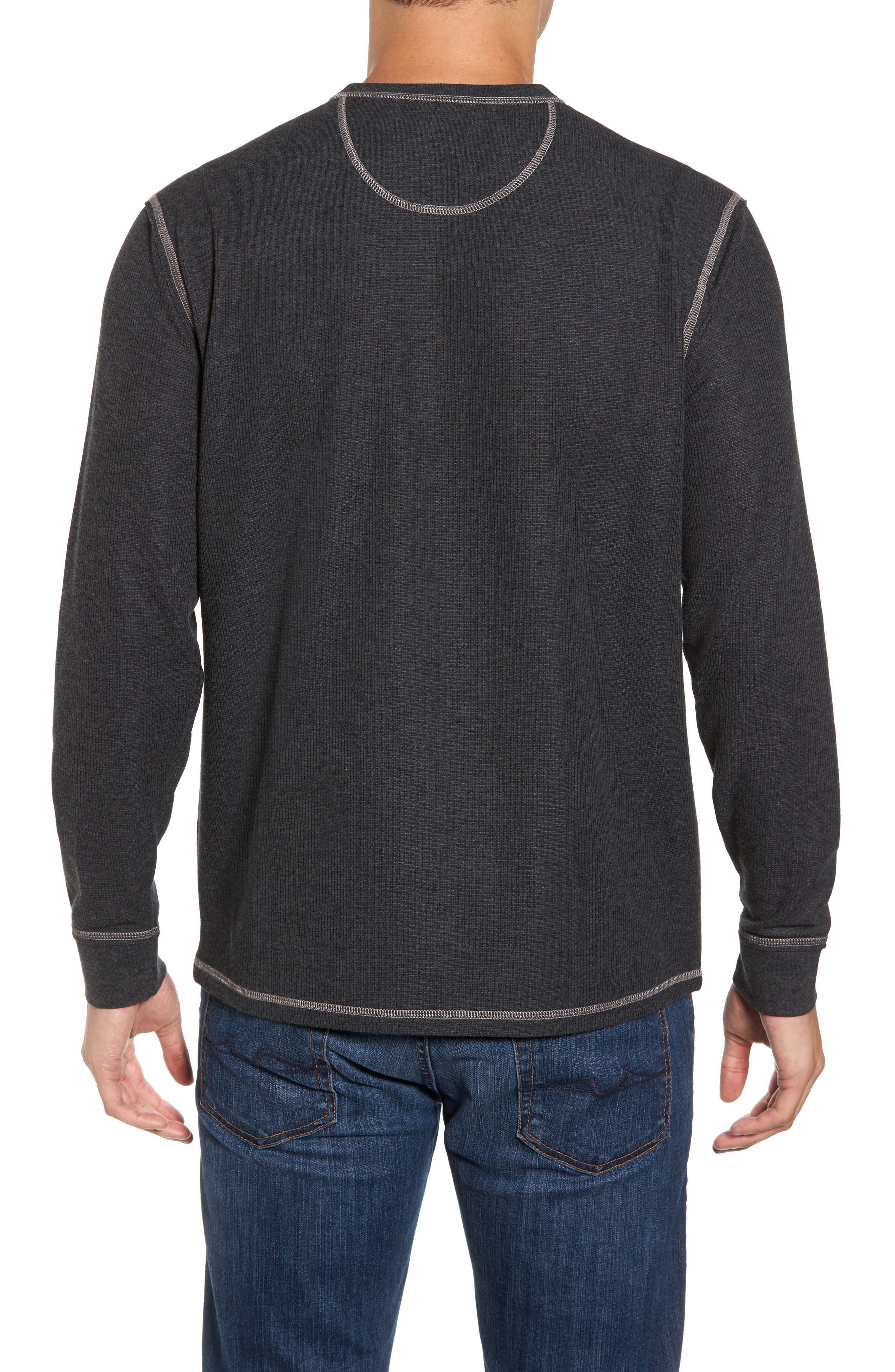 Island Thermal Standard Fit Thermal Henley,                             Alternate thumbnail 2, color,                             050